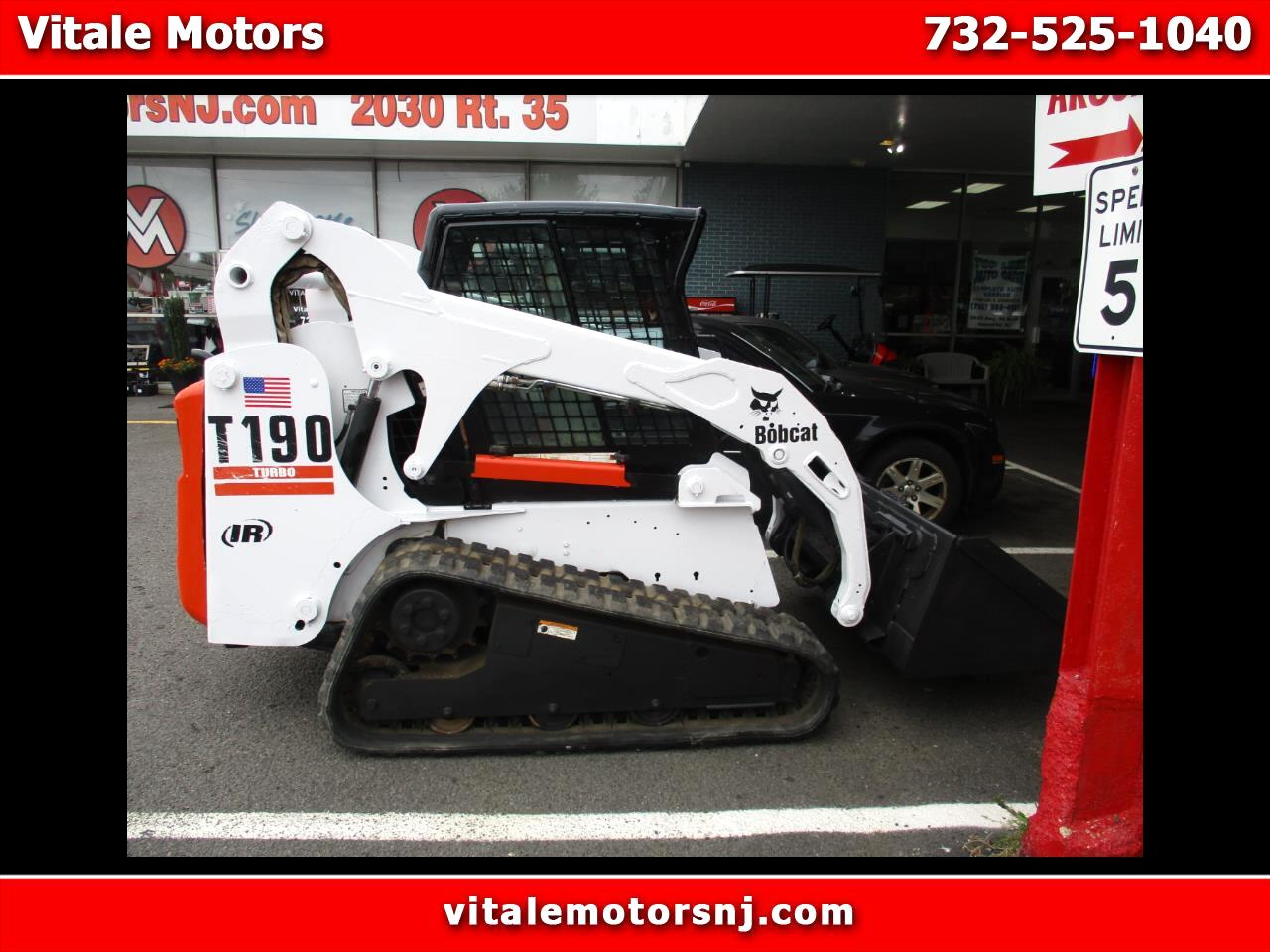 2002 Bobcat T190 Skid Steer TRACK STEER * ENCLOSED CAB * 1600 HOURS