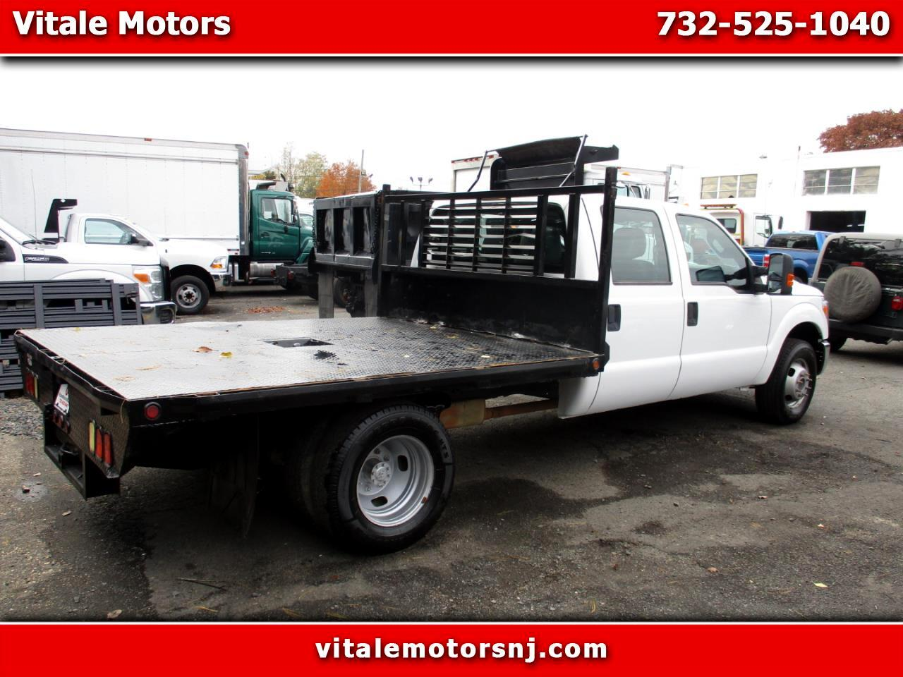 2014 Ford F-350 SD GOOSENECK 9 FOOT RACK FLAT DECK XL