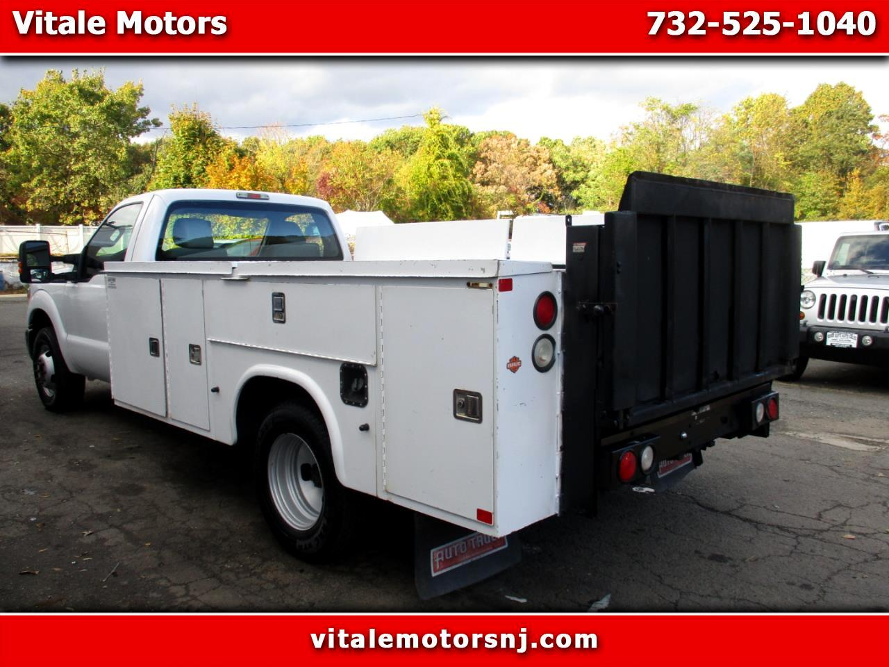 2012 Ford F-350 SD UTILITY BODY DUALLY W/ LIFTGATE