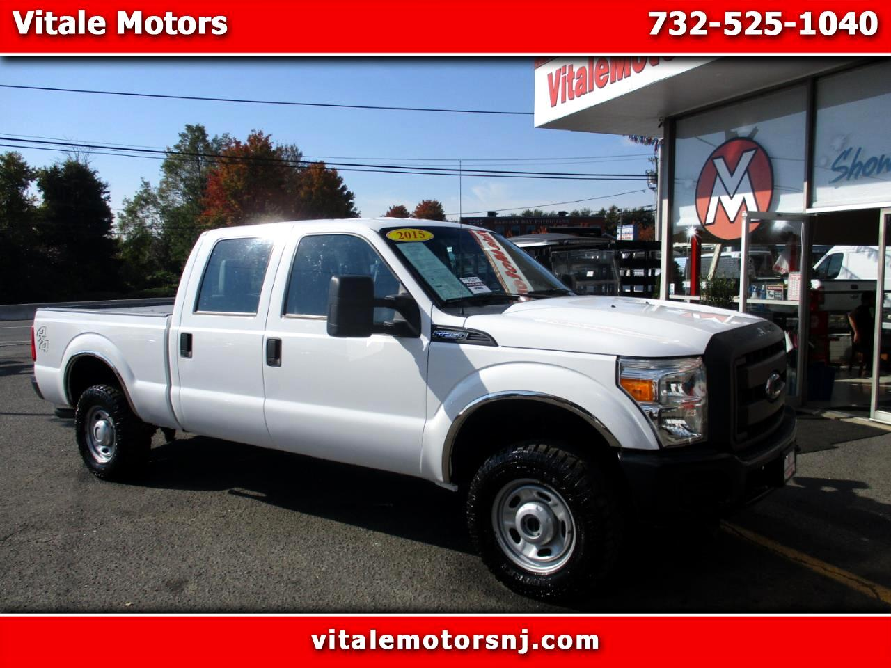 2015 Ford F-250 SD CREW CAB 4X4 SHORT BED