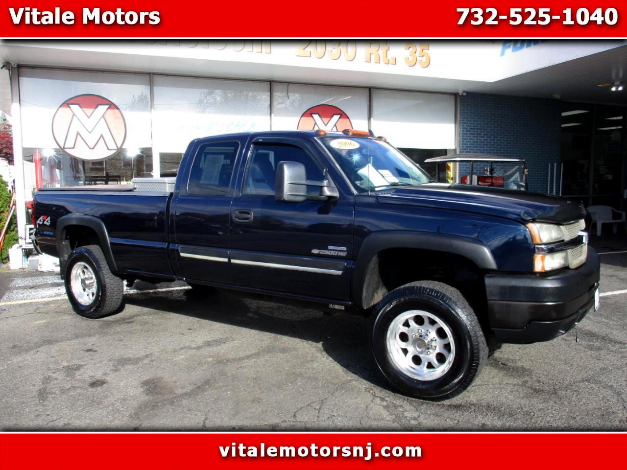 2006 Chevrolet Silverado 2500HD LS EXT. CAB LONG BED DIESEL 4X4