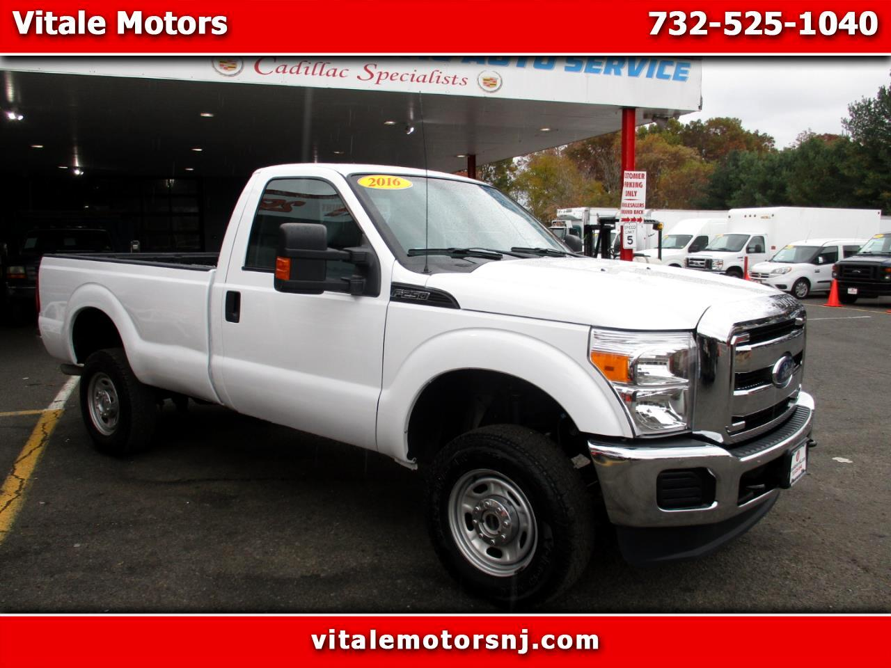 2016 Ford F-250 SD XL 4X4 LONG BED REG. CAB