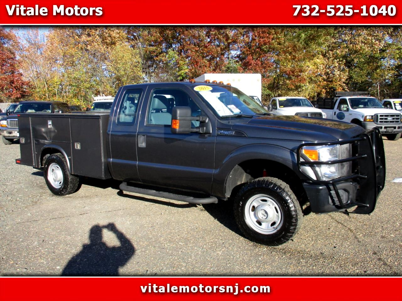 2015 Ford F-250 SD XL SUPER CAB UTILITY BODY 4X4