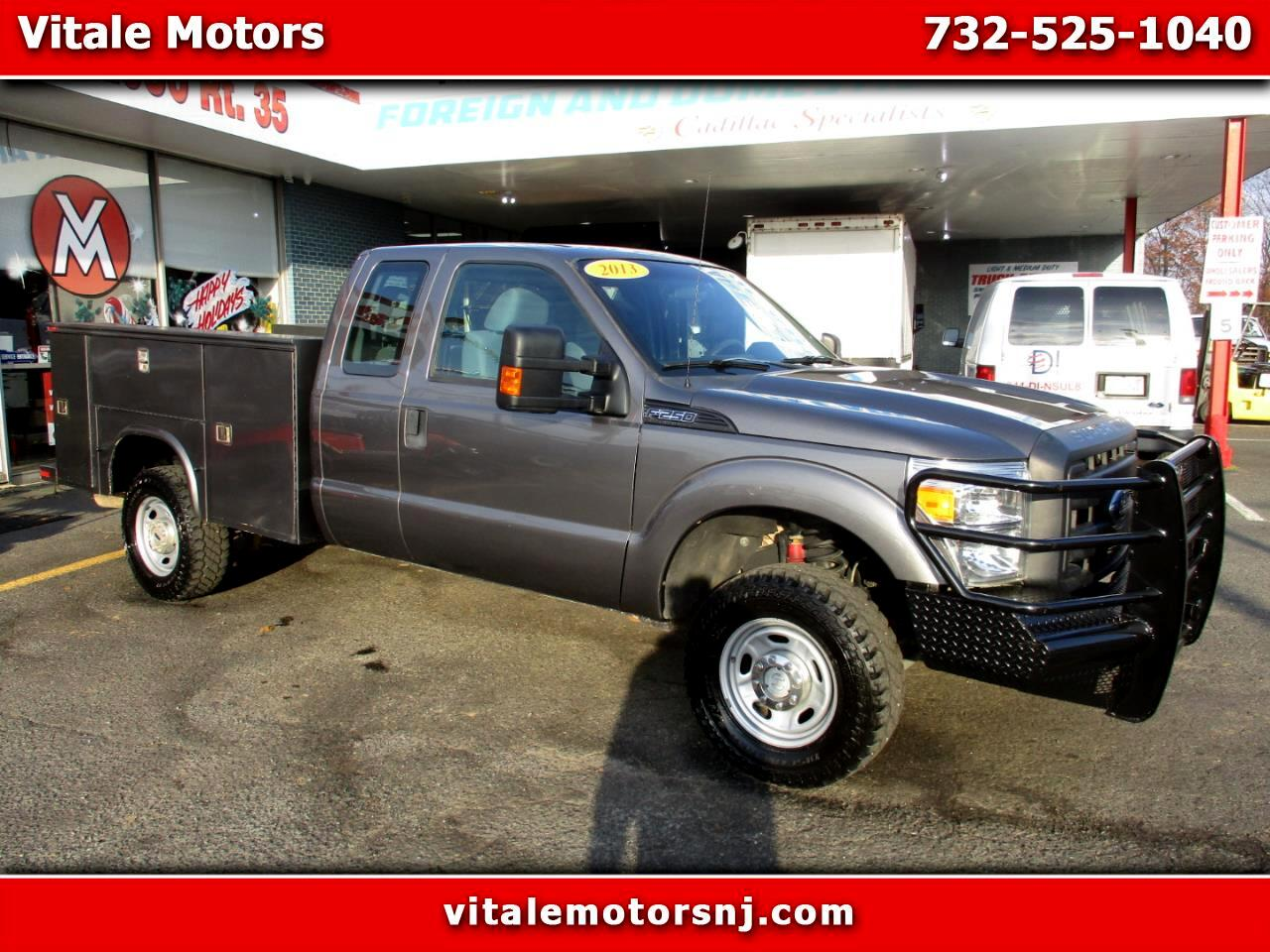 2013 Ford F-250 SD XL SUPERCAB 4X4 UTILITY BODY