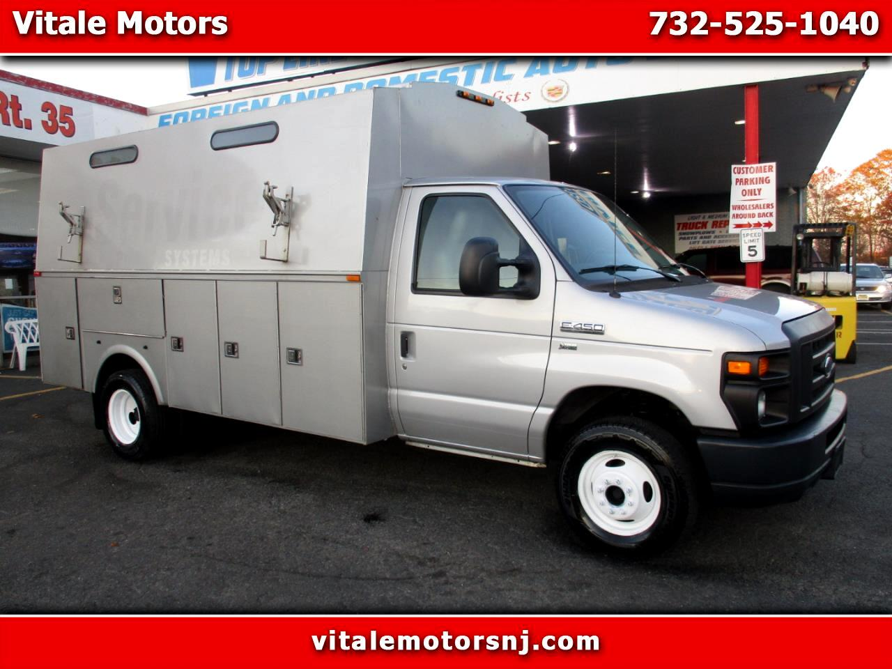 2013 Ford Econoline E450 ENCLOSED UTILITY W/ LIFTGATE