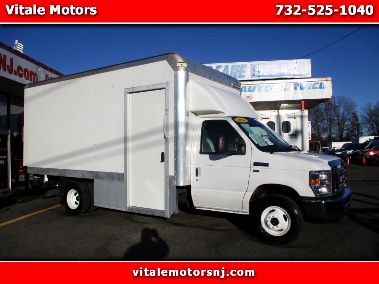 2016 Ford Econoline E-350 BOX TRUCK 16' W/ SIDE DOOR