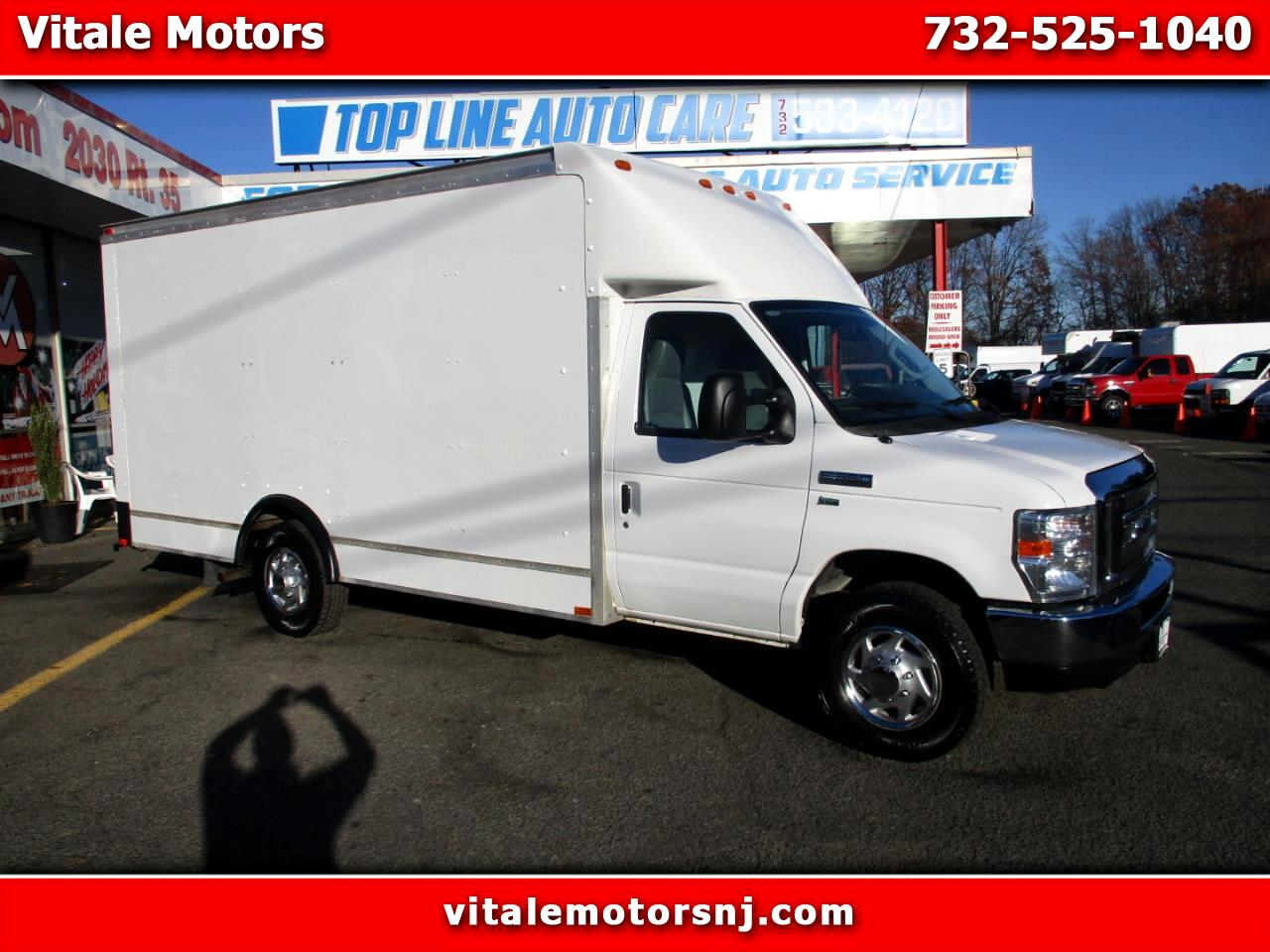2012 Ford Econoline E-350 CUBE VAN 14 FOOT BOX TRUCK