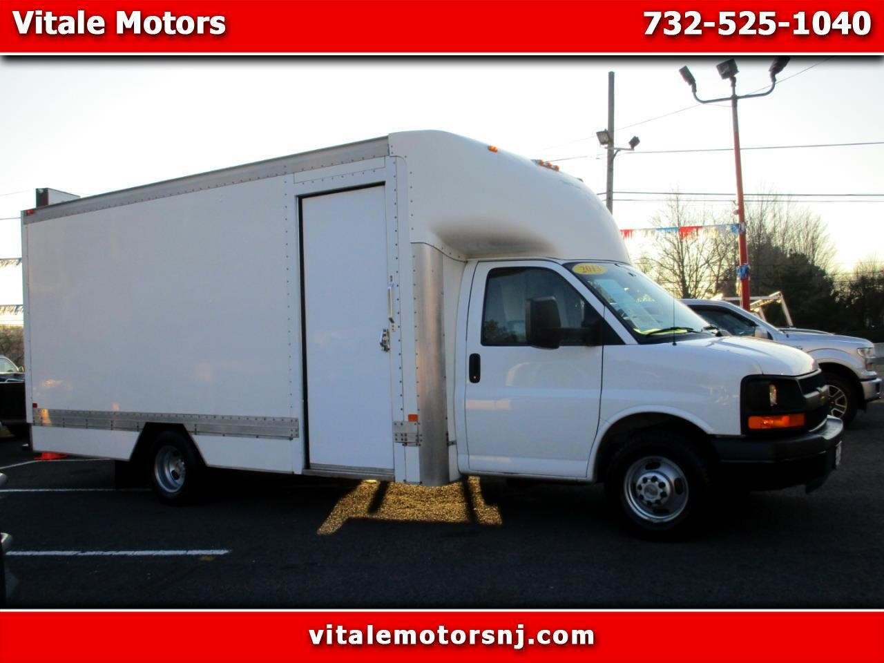 2013 Chevrolet Express G 3500 BOX TRUCK 17 FOOT W/ SIDE DOOR