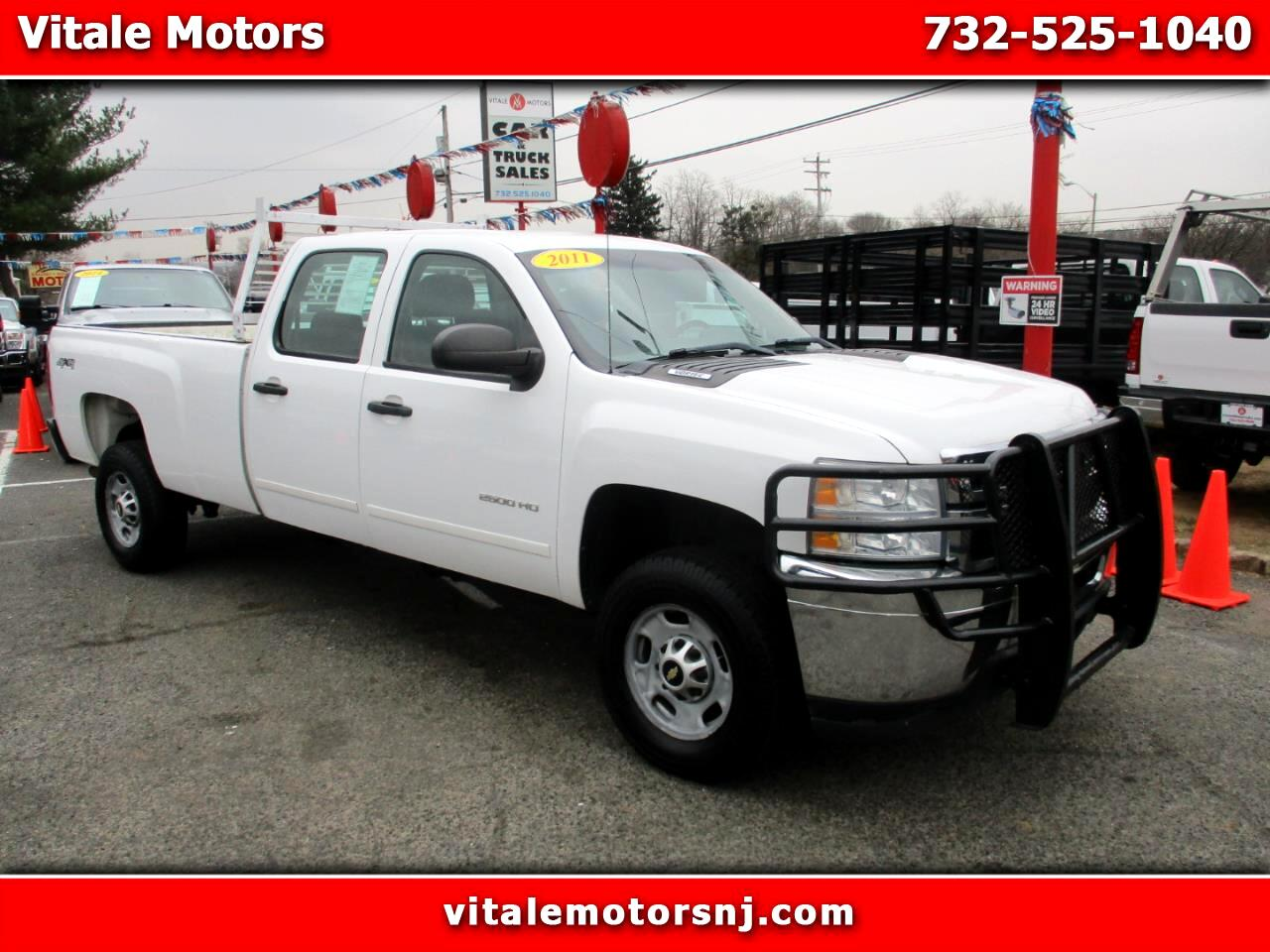 2011 Chevrolet Silverado 2500HD CREW CAB 4X4 LONG BED