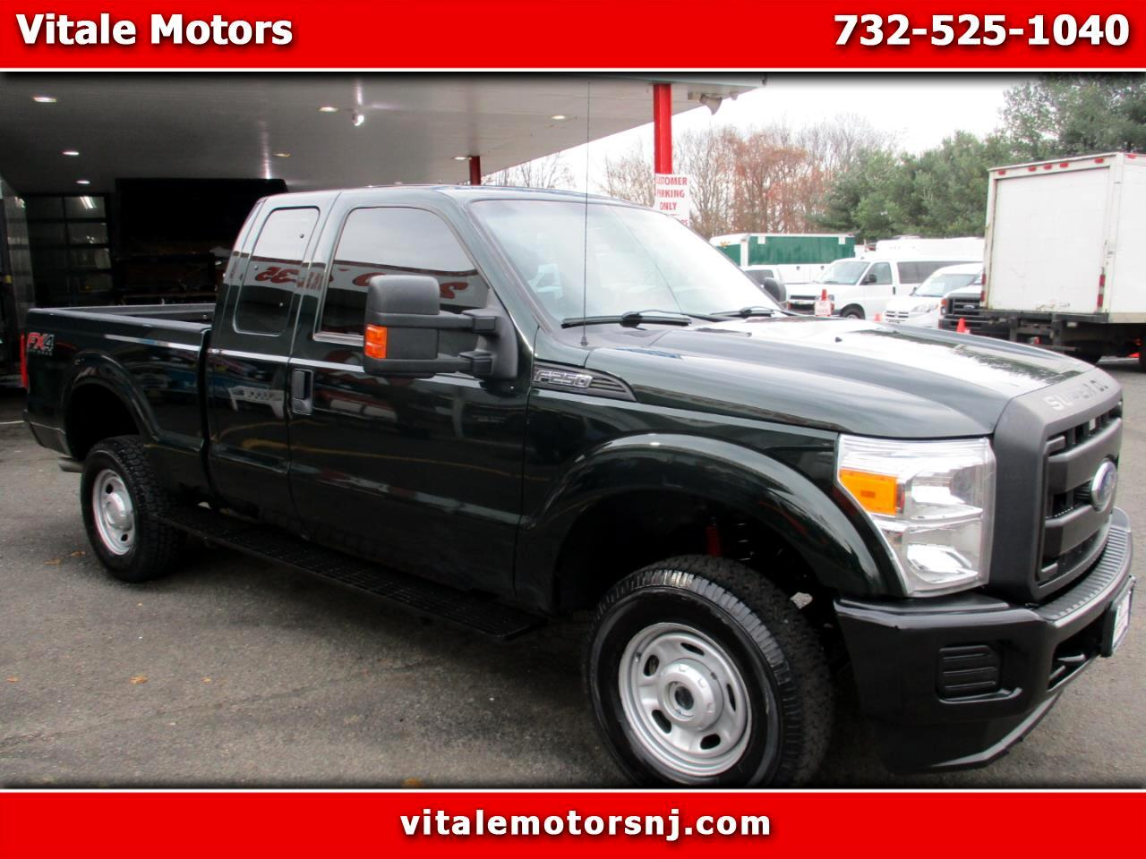 2016 Ford F-250 SD XL SUPER CAB 4X4