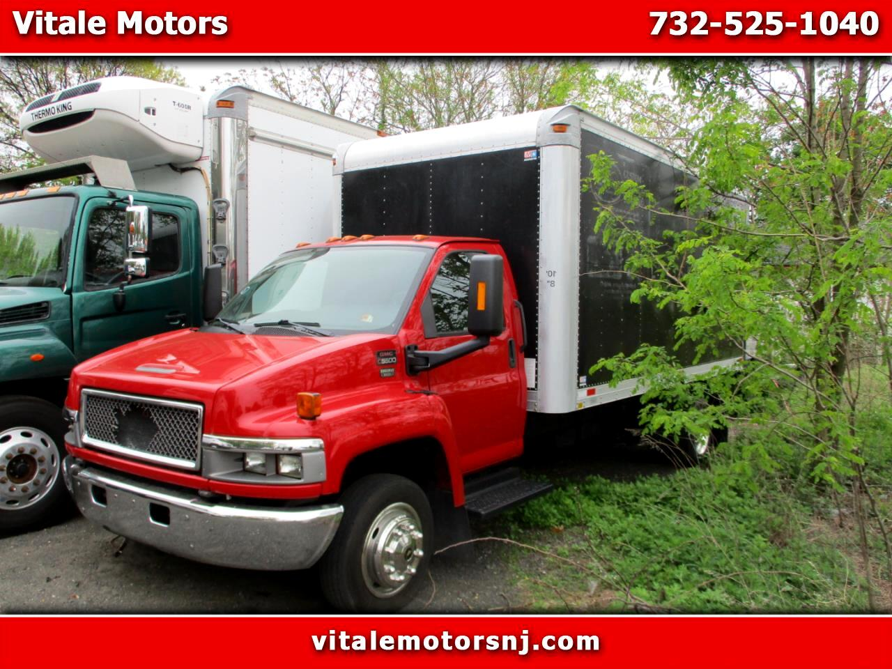 2005 GMC C5C042 16 FOOT BOX TRUCK , DIESEL