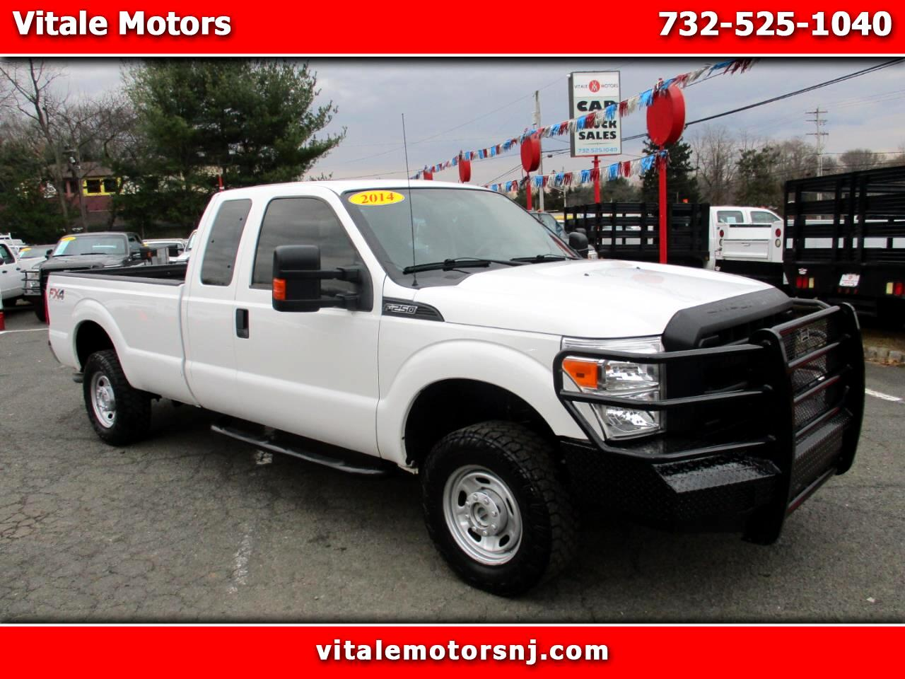 2014 Ford F-250 SD FX4 SuperCab Long Bed 4WD