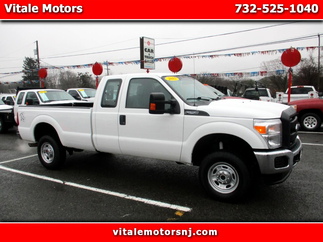 2015 Ford F-250 SD XL SUPER CAB 4X4 LONG BED