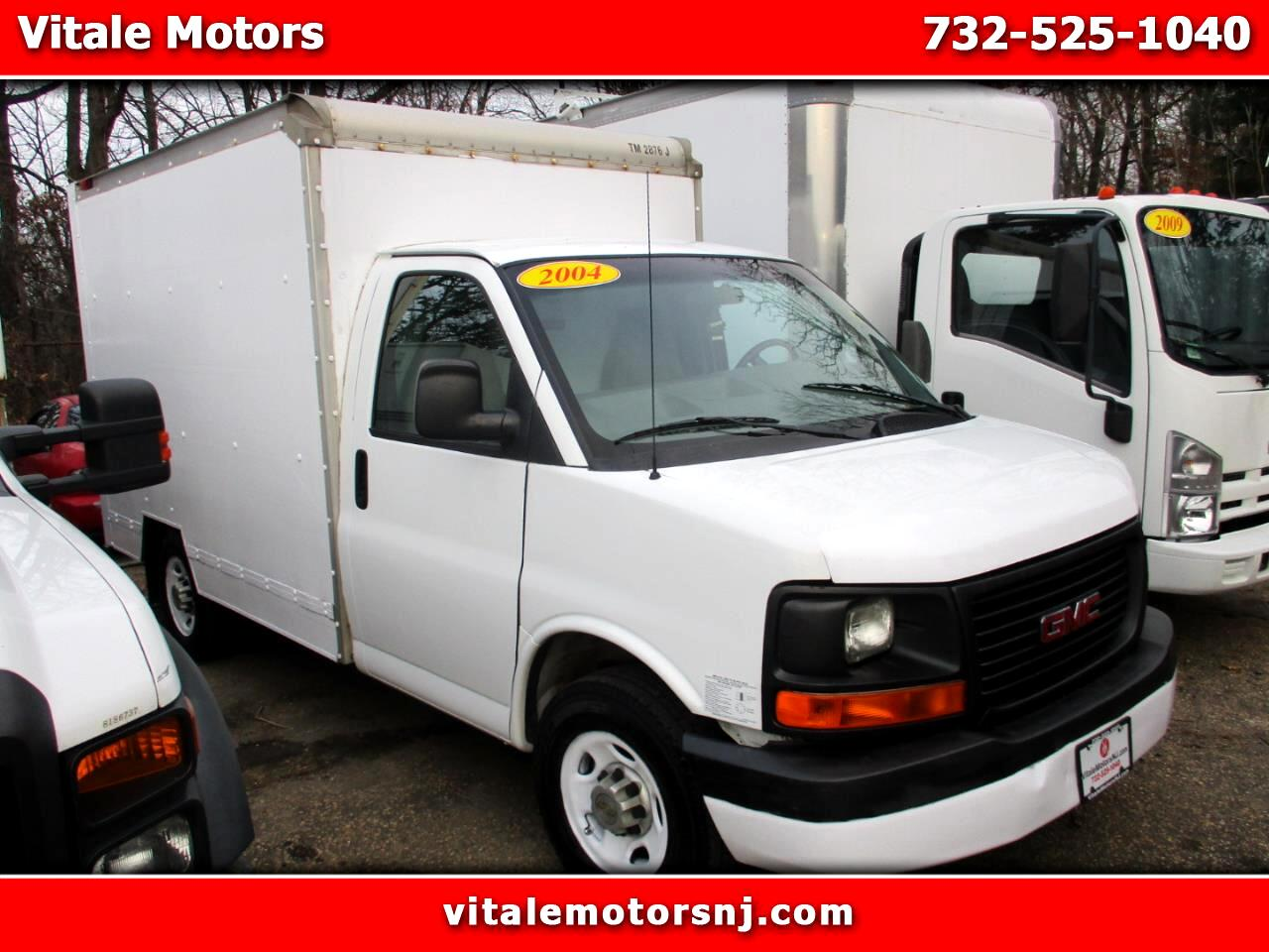 2004 GMC Savana 3500 CUBE VAN 10 FOOT