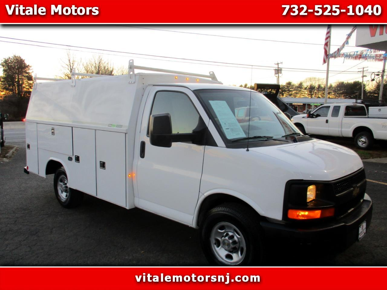 2013 Chevrolet Express G3500 ENCLOSED UYILITY BODY
