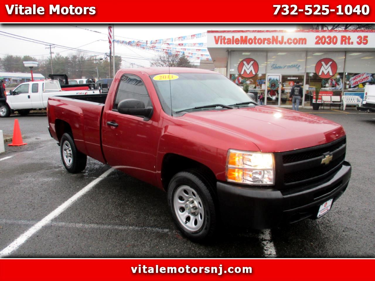 2011 Chevrolet Silverado 1500 REG CAB LONG BED