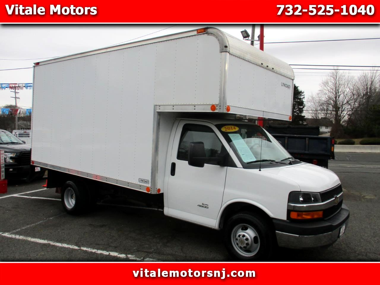 2014 Chevrolet Express G4500 BOX TRUCK 15 FOOT PROPANE FUEL TRUCK