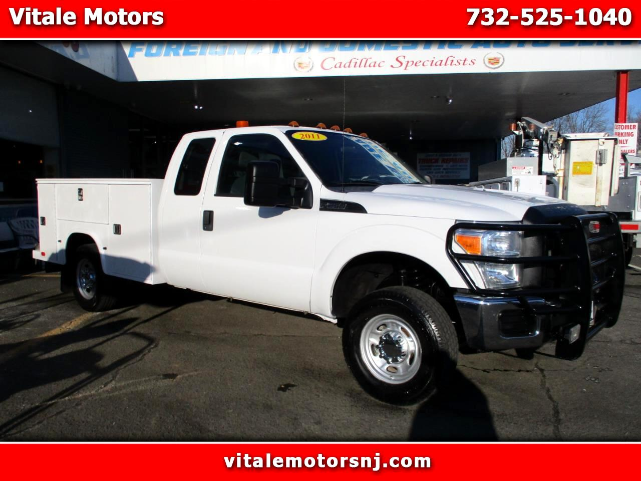 2011 Ford F-250 SD XL SUPER CAB UTILITY BODY 4X4