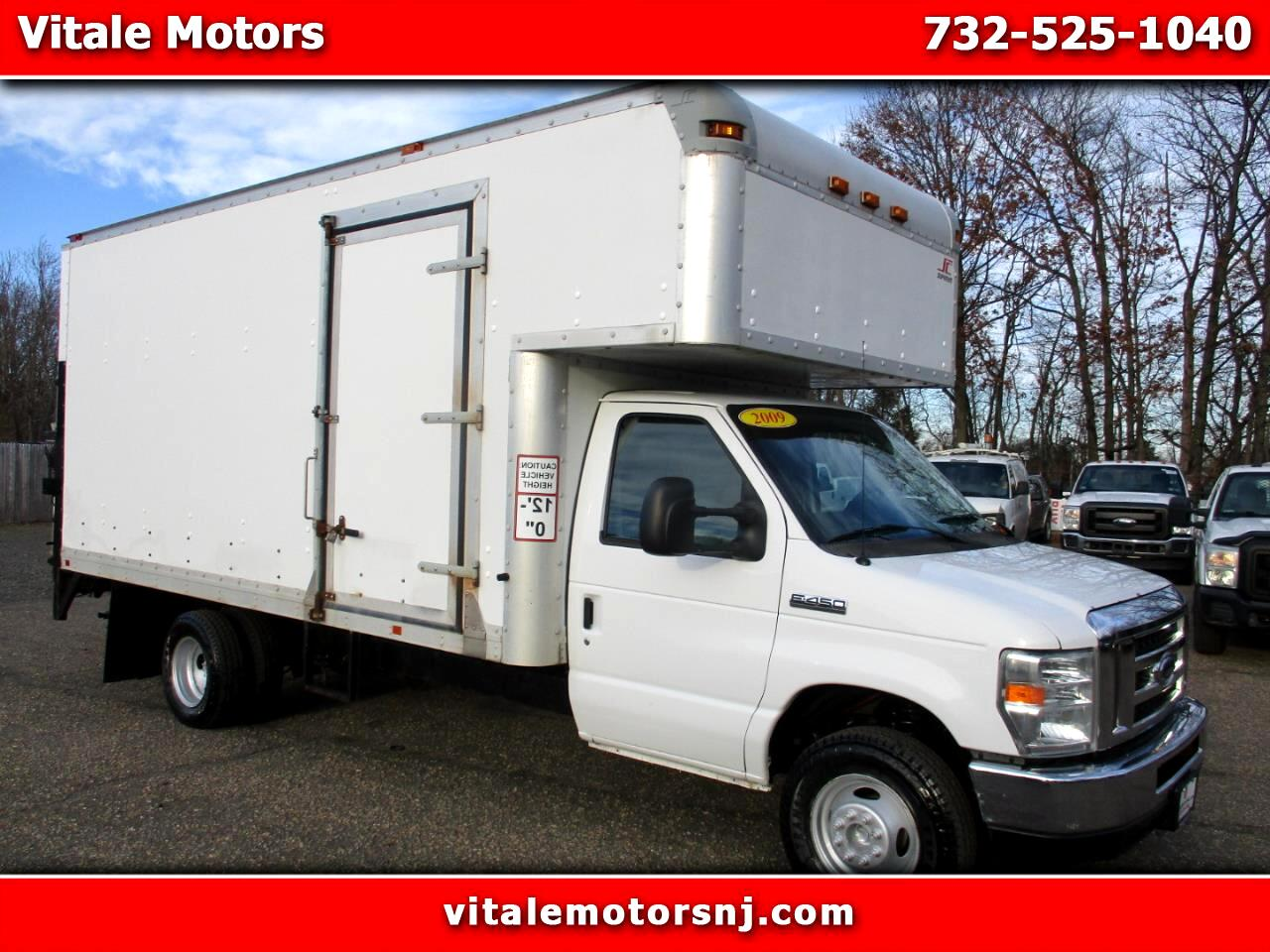 2009 Ford Econoline E450 BOX TRUCK ** W/ SIDE DOOR * ATTIC TOP * LIFTG