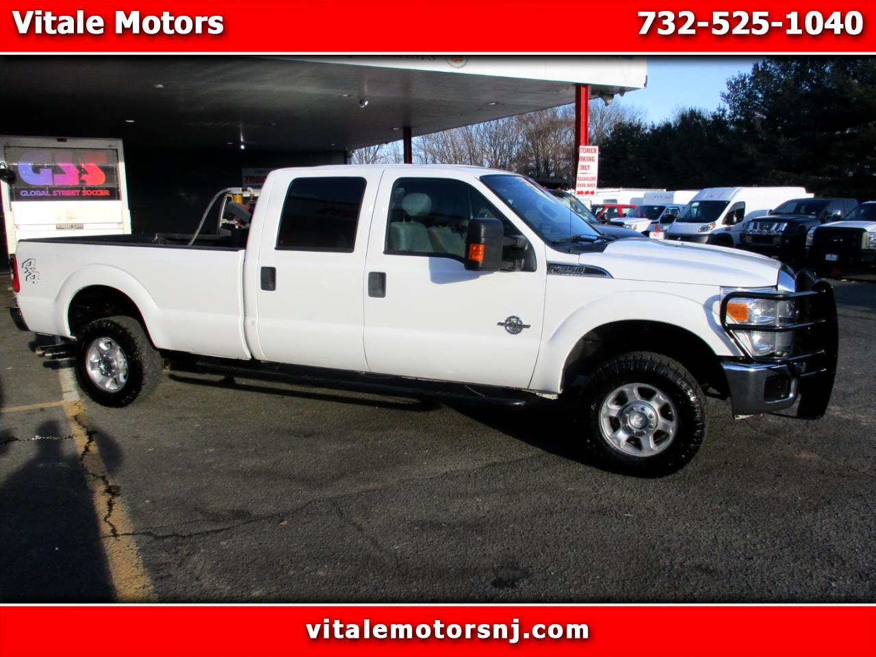 2014 Ford F-350 SD XLT CREW CAB 4X4 LONG BED
