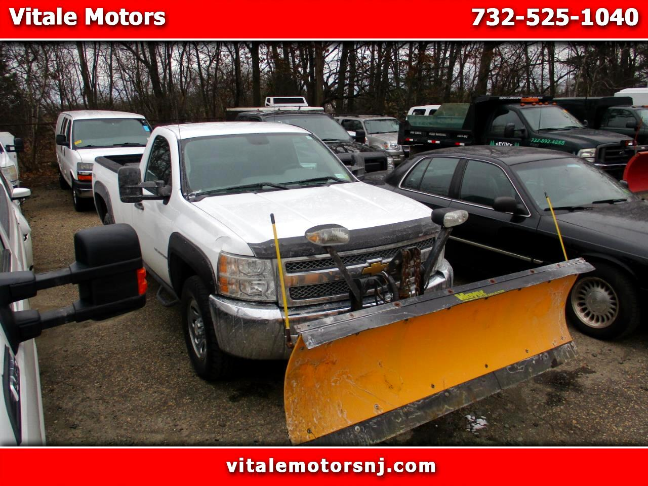 2013 Chevrolet Silverado 1500 LONG BED 4X4 W/ SNOW PLOW!
