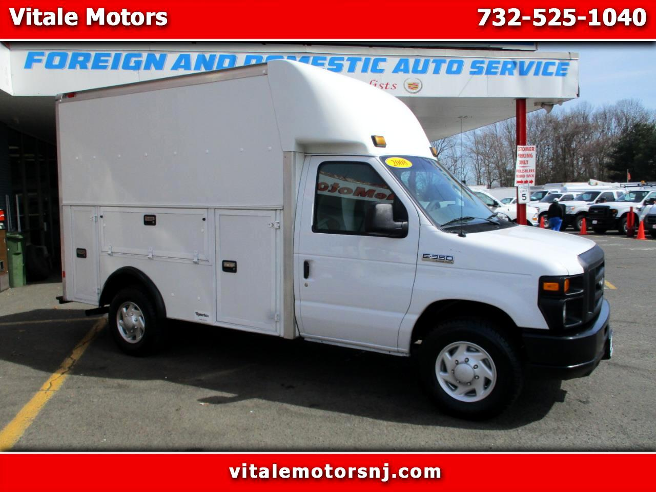 2008 Ford Econoline E-350 ENCLOSED UTILITY BODY