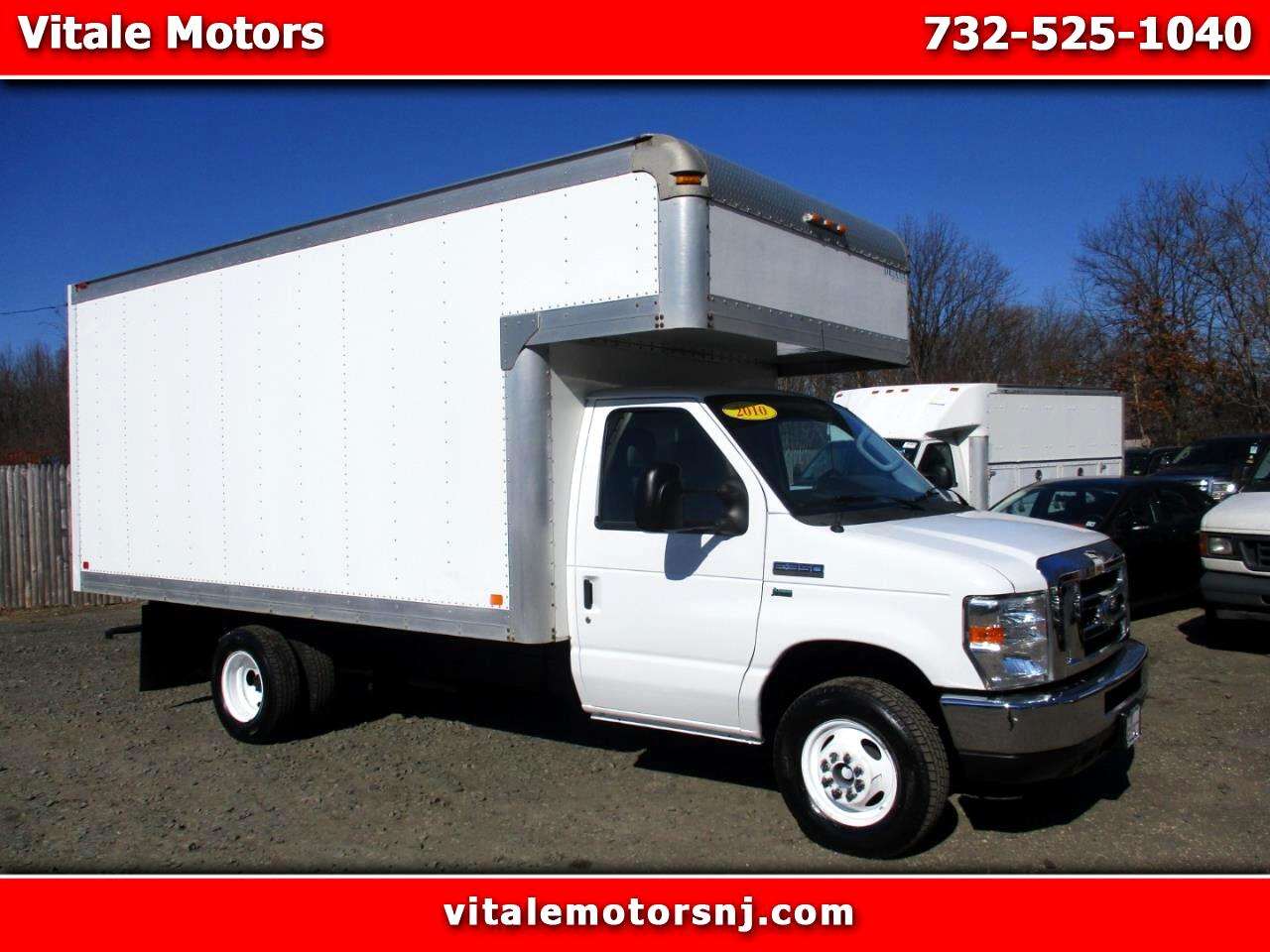 2010 Ford Econoline E-350 15 FOOT BOX W/ ATTIC BOX