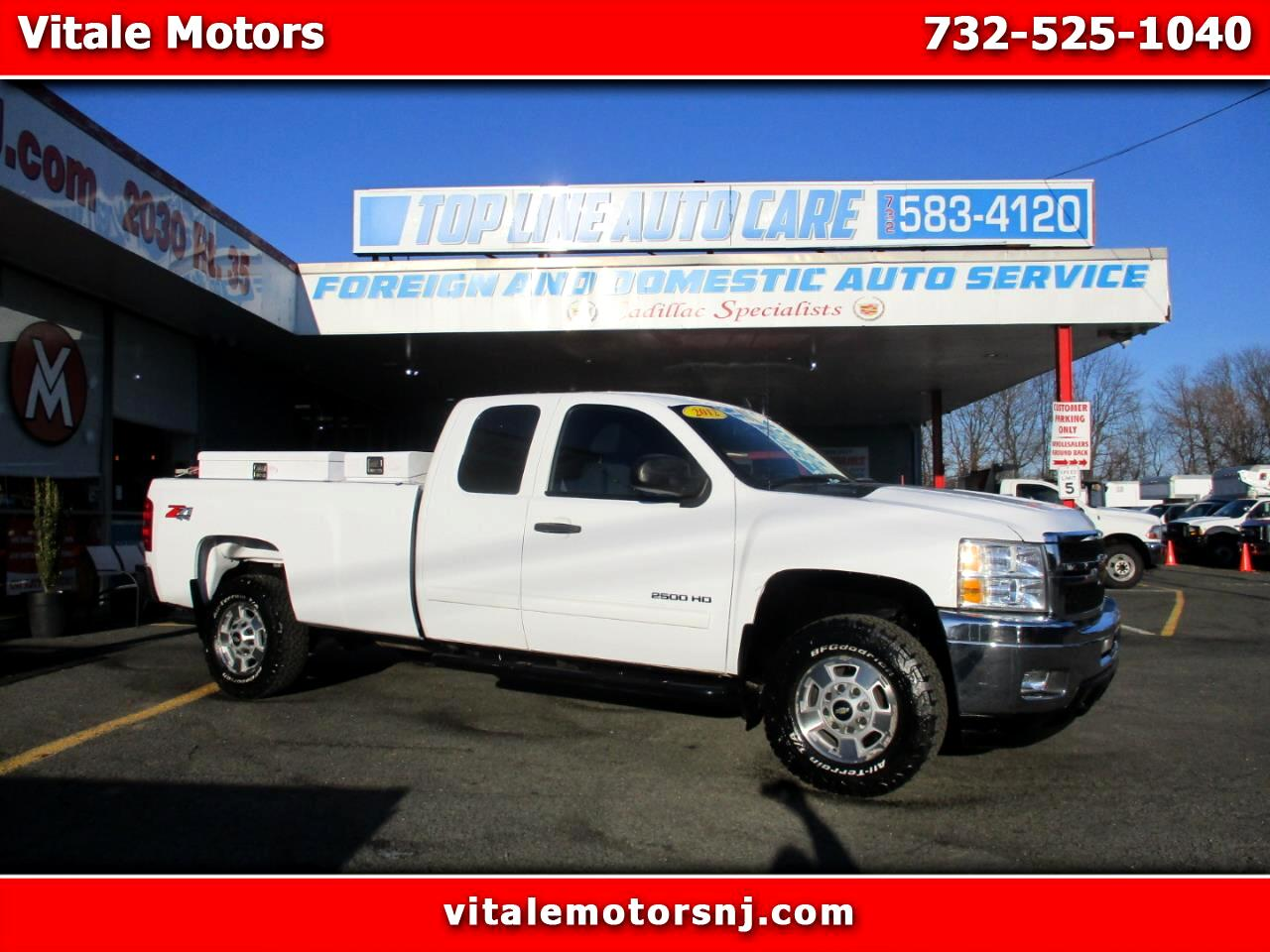 2012 Chevrolet Silverado 2500HD LT EXT. CAB Z71 4WD LONG BED