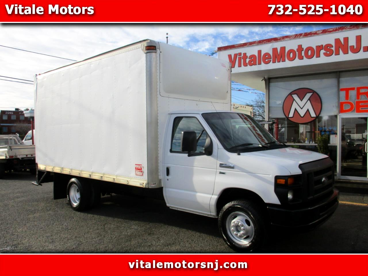 2015 Ford Econoline E-350 BOX TRUCK 15.5 FOOT