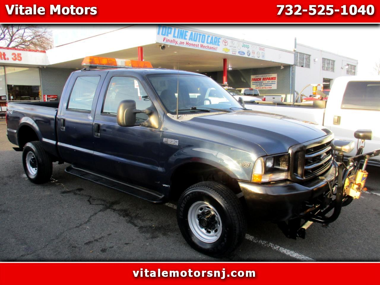 2002 Ford F-350 SD SNOW PLOW! 26K MILES CREW CAB 4X4 6' BED