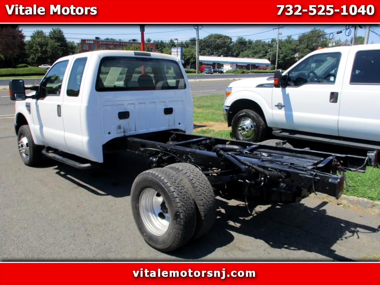 2008 Ford F-350 SD CAB & CHASSIS 49K MILES 4X4 DRW