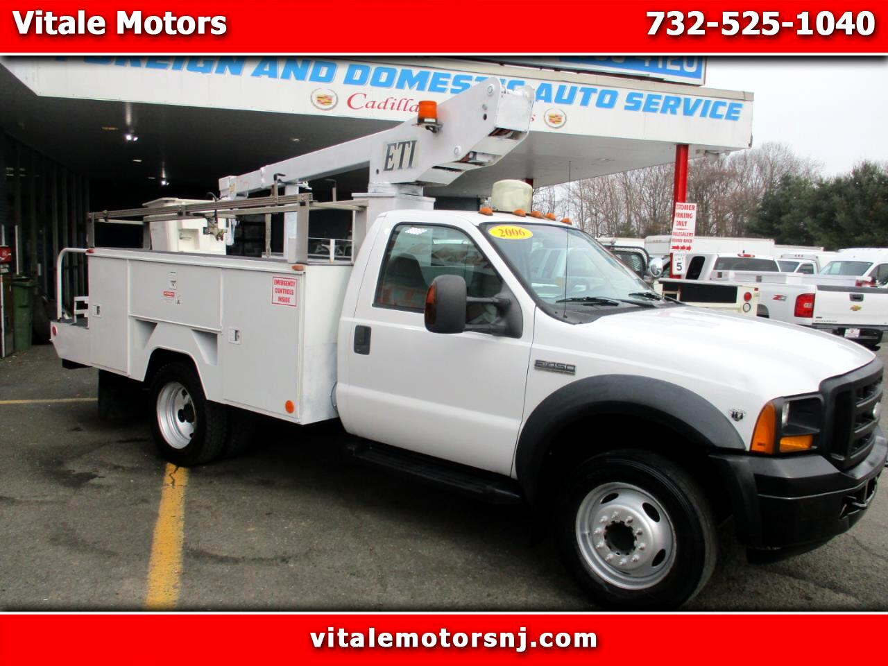 2006 Ford F-450 SD BUCKET TRUCK F450 DRW