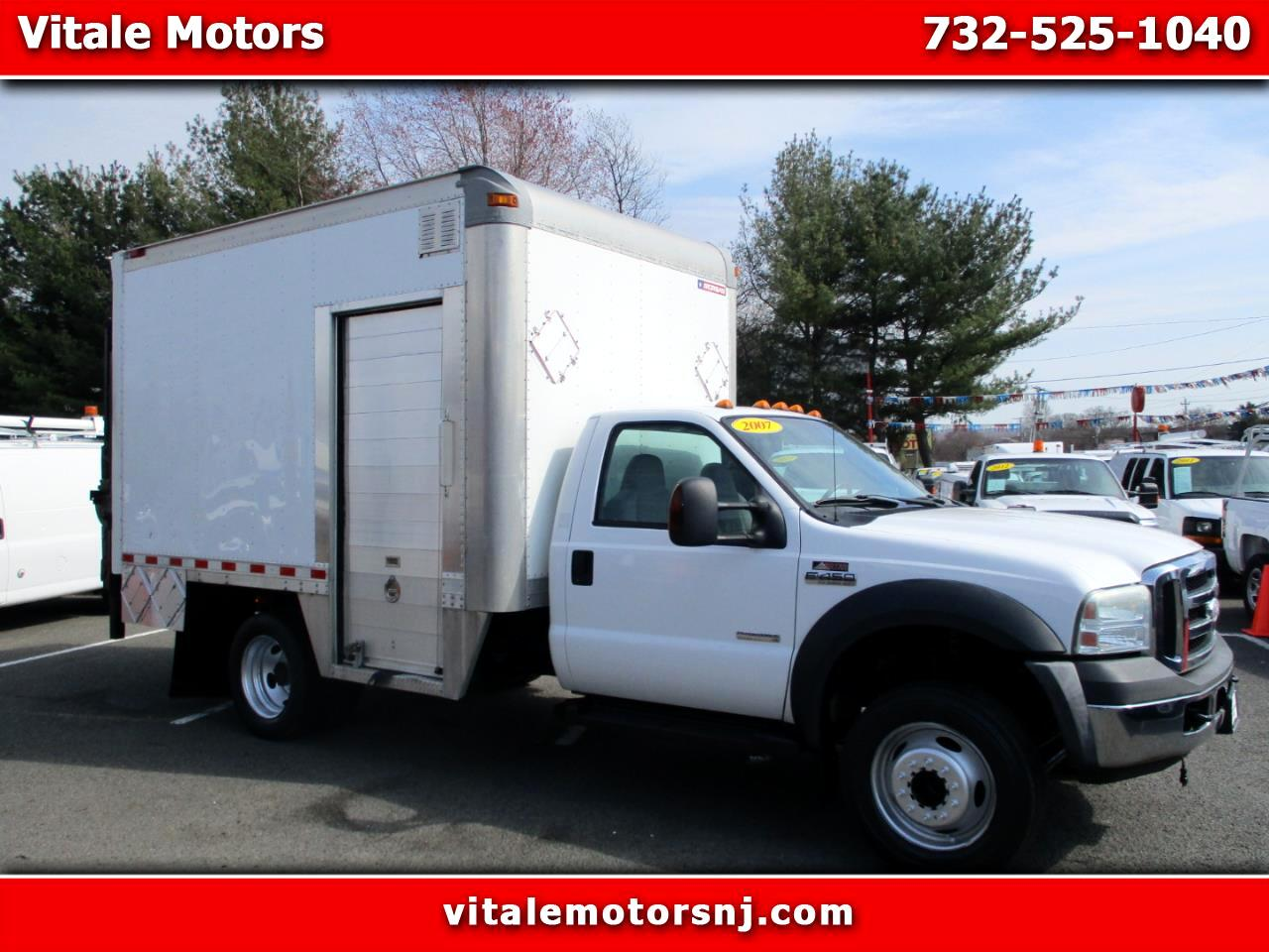 2007 Ford F-450 SD 12 FOOT BOX TRUCK/ STEP VAN SIDE DOOR, LIFT GATE