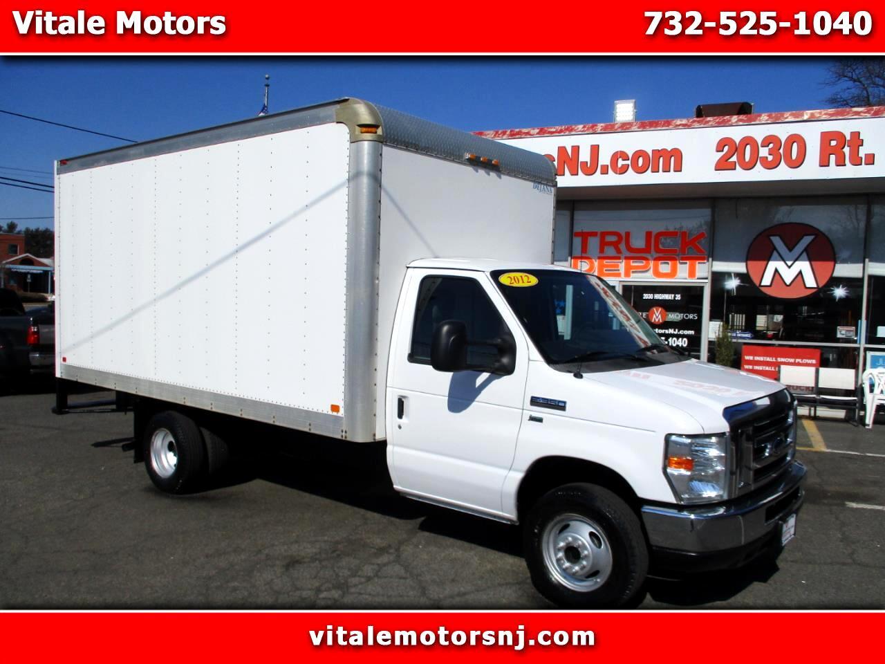 "2012 Ford Econoline E-350 14' 8"" BOX TRUCK WALK THROUGH CAB"