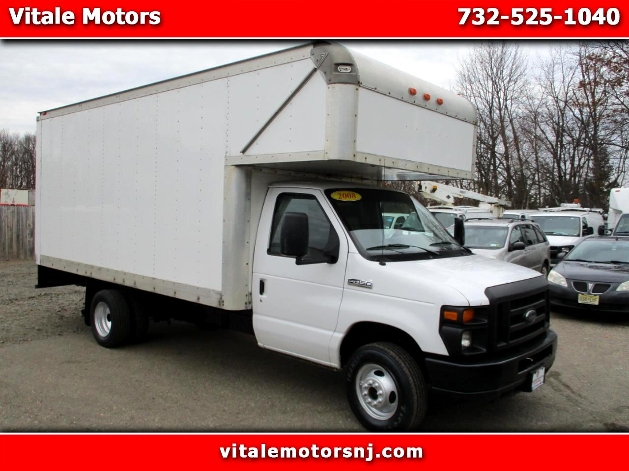 "2008 Ford Econoline E-450 14' 6"" BOX TRUCK W/ ATTIC"