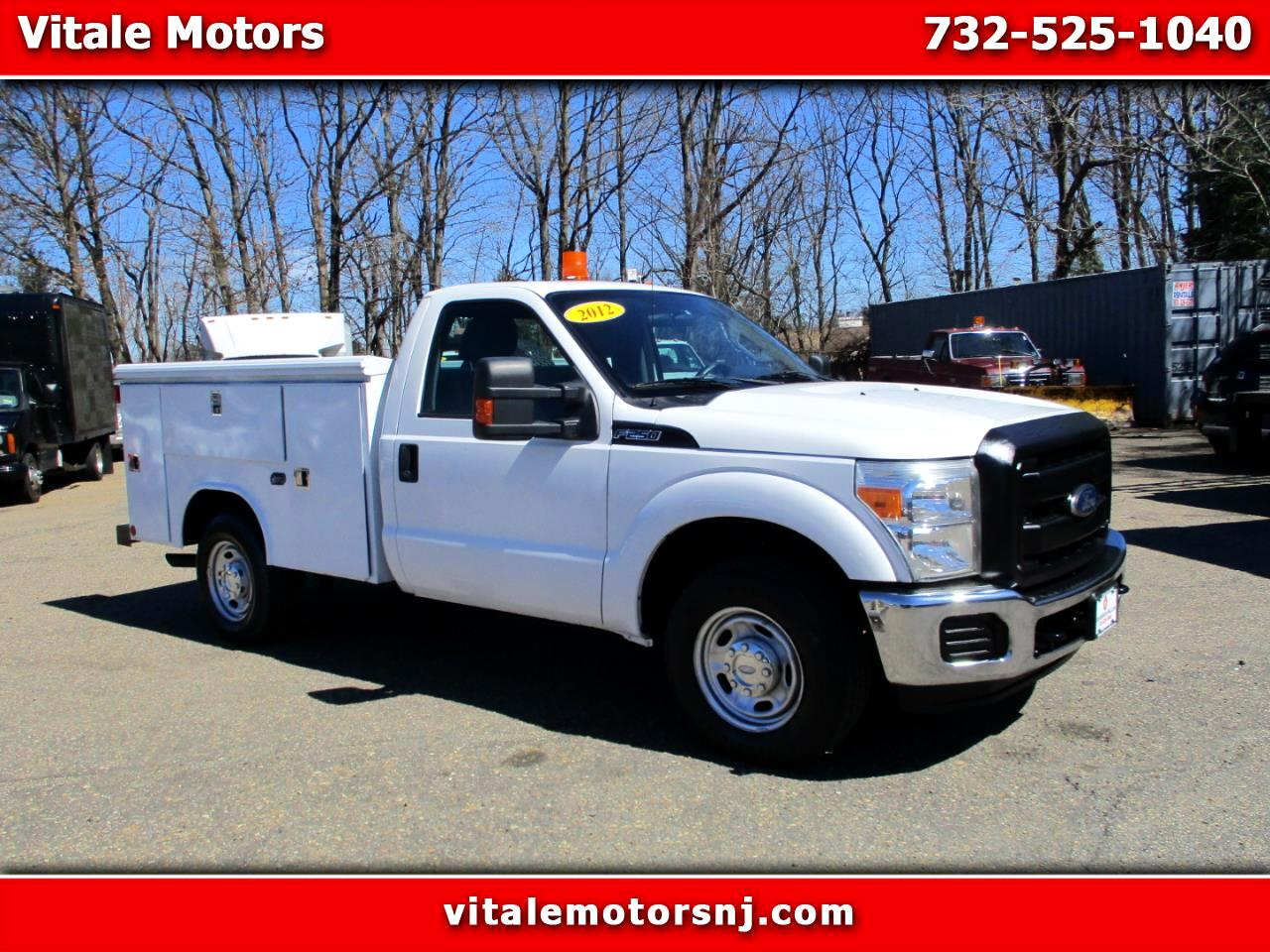 2012 Ford F-250 SD REG. CAB UTILITY BODY