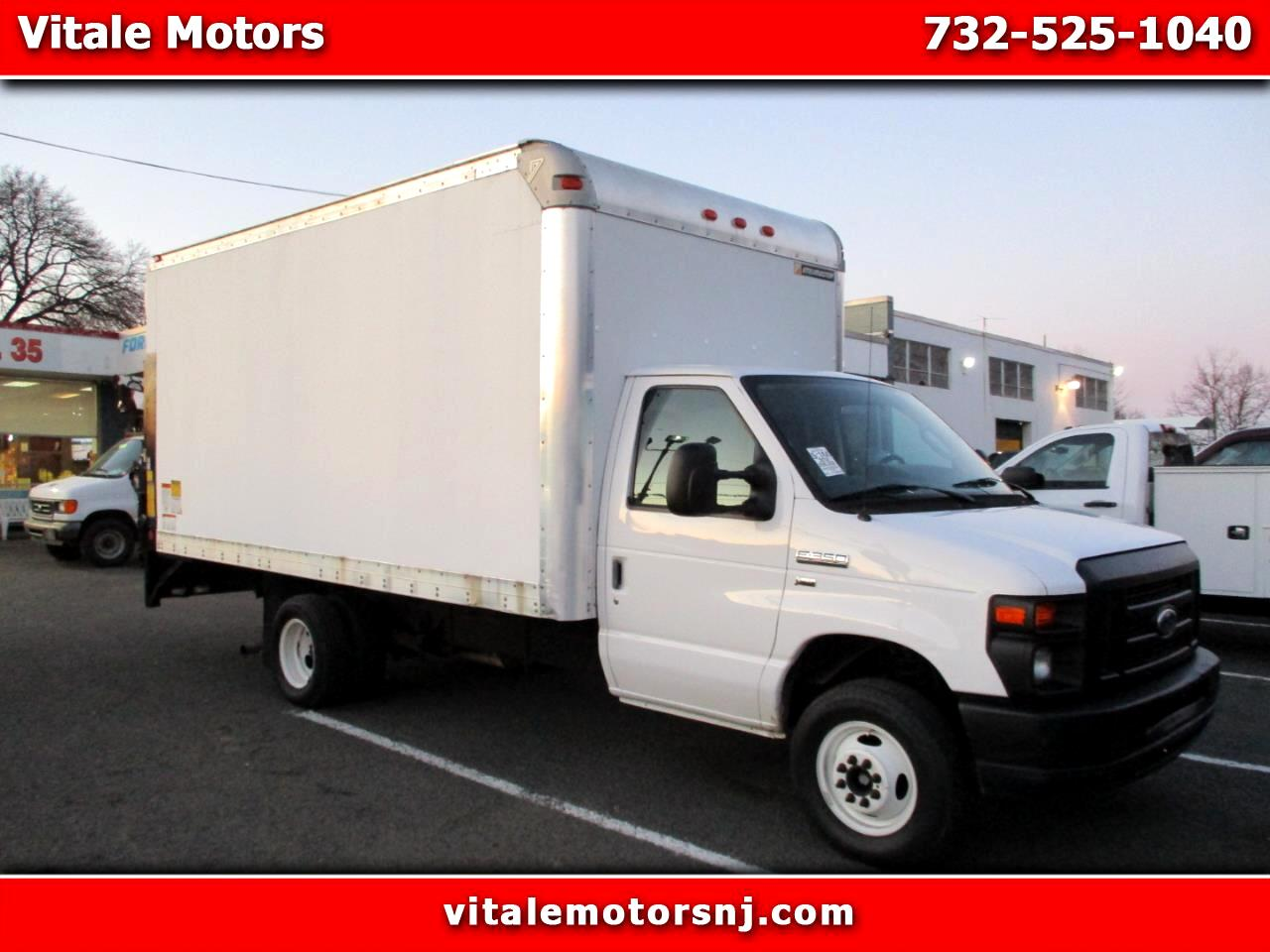 2014 Ford Econoline E-350 BOX TRUCK 15 FOOT W/ LIFTGATE