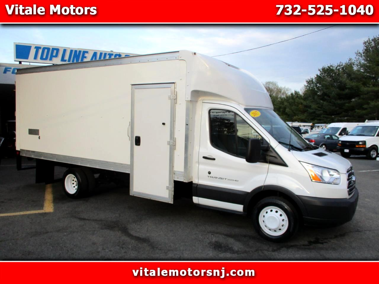 2017 Ford Transit T-350 TRANSIT 3500 BOX TRUCK 16 FOOR W/ SIDE STEP