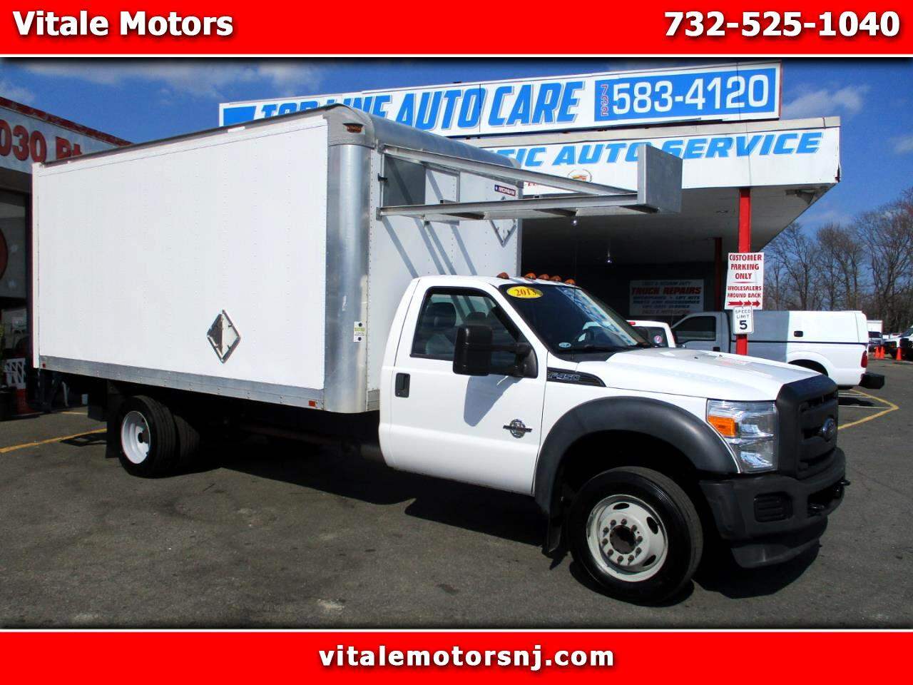2013 Ford F-450 SD 16' BOX TRUCK 23' EXTENSION W/ LIFTGATE DIESEL