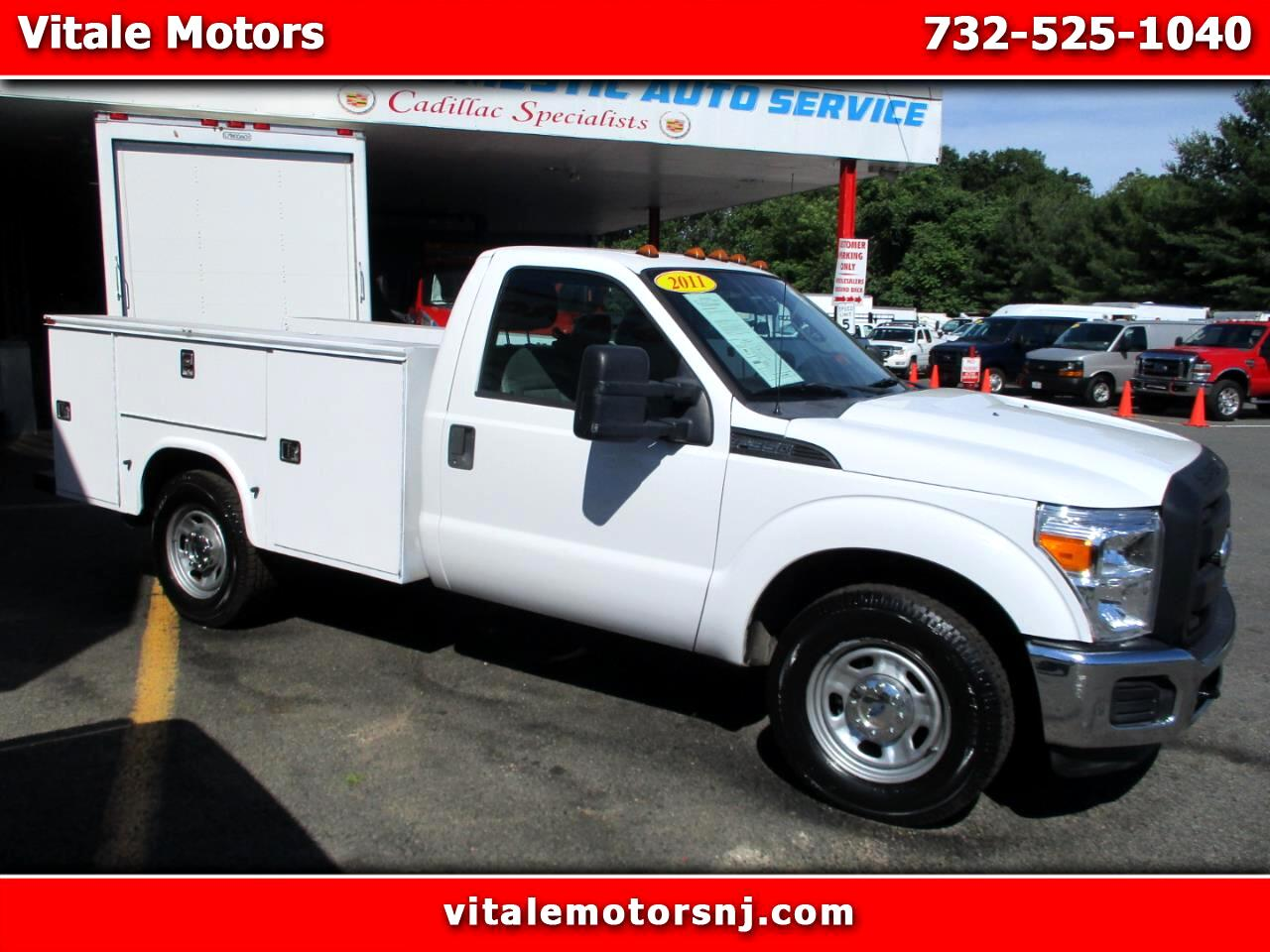 2011 Ford F-350 SD REG. CAB 9 FOOT UTILITY BODY 74K MILES