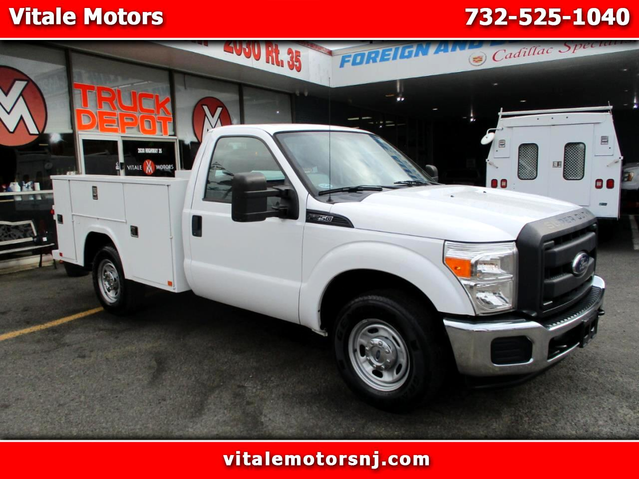 2014 Ford F-250 SD REG. CAB UTILITY BODY SRW