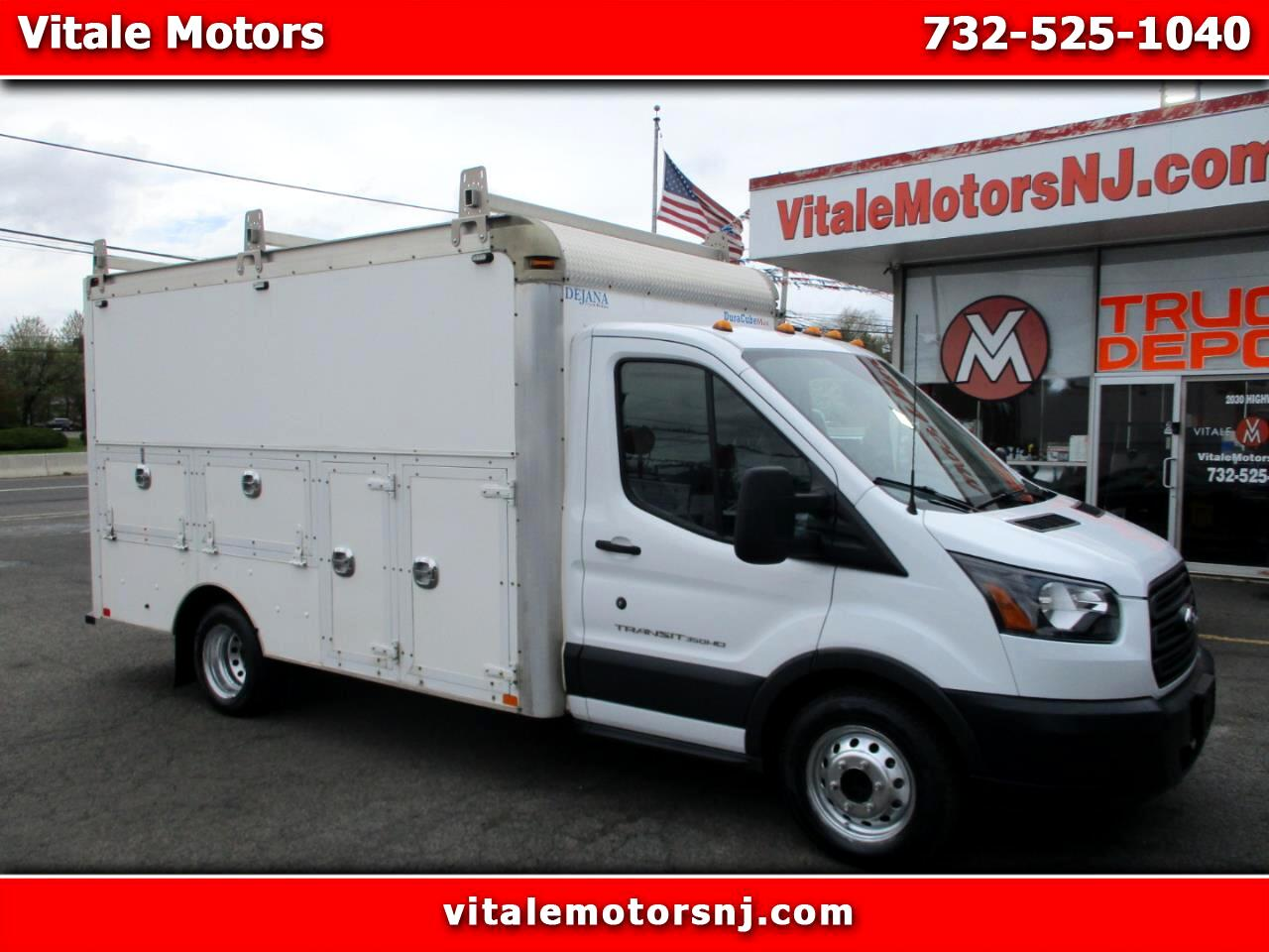 2015 Ford Transit T-350 12 FOOT ENCLOSED UTILITY BODY DRW