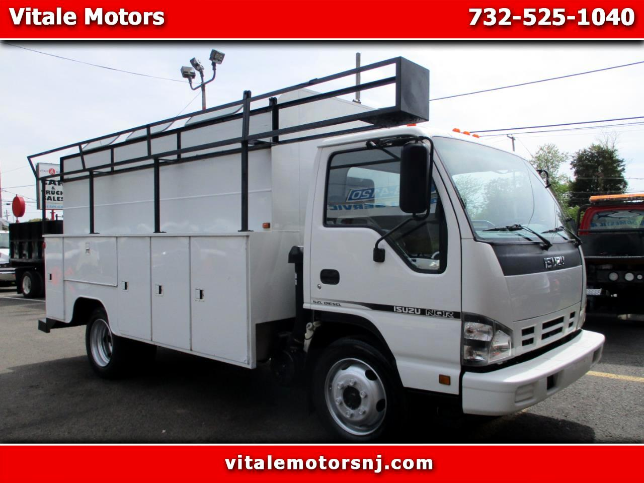 2007 Isuzu NQR ENCLOSED UTILITY BODY DRW DIESEL 83K