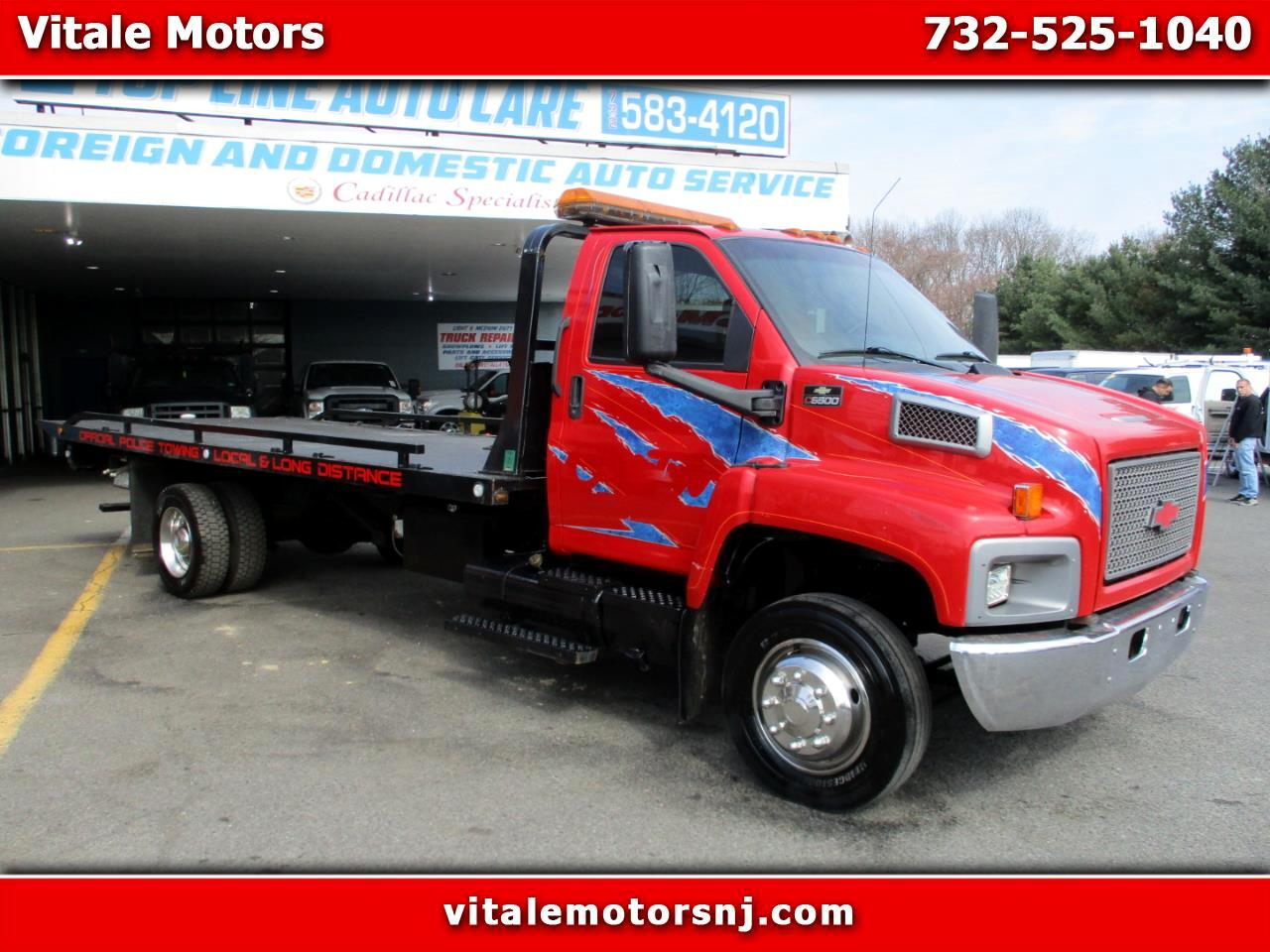 2004 Chevrolet C6500 21 FOOT JERR DAN FLAT BED / ROLL BACK