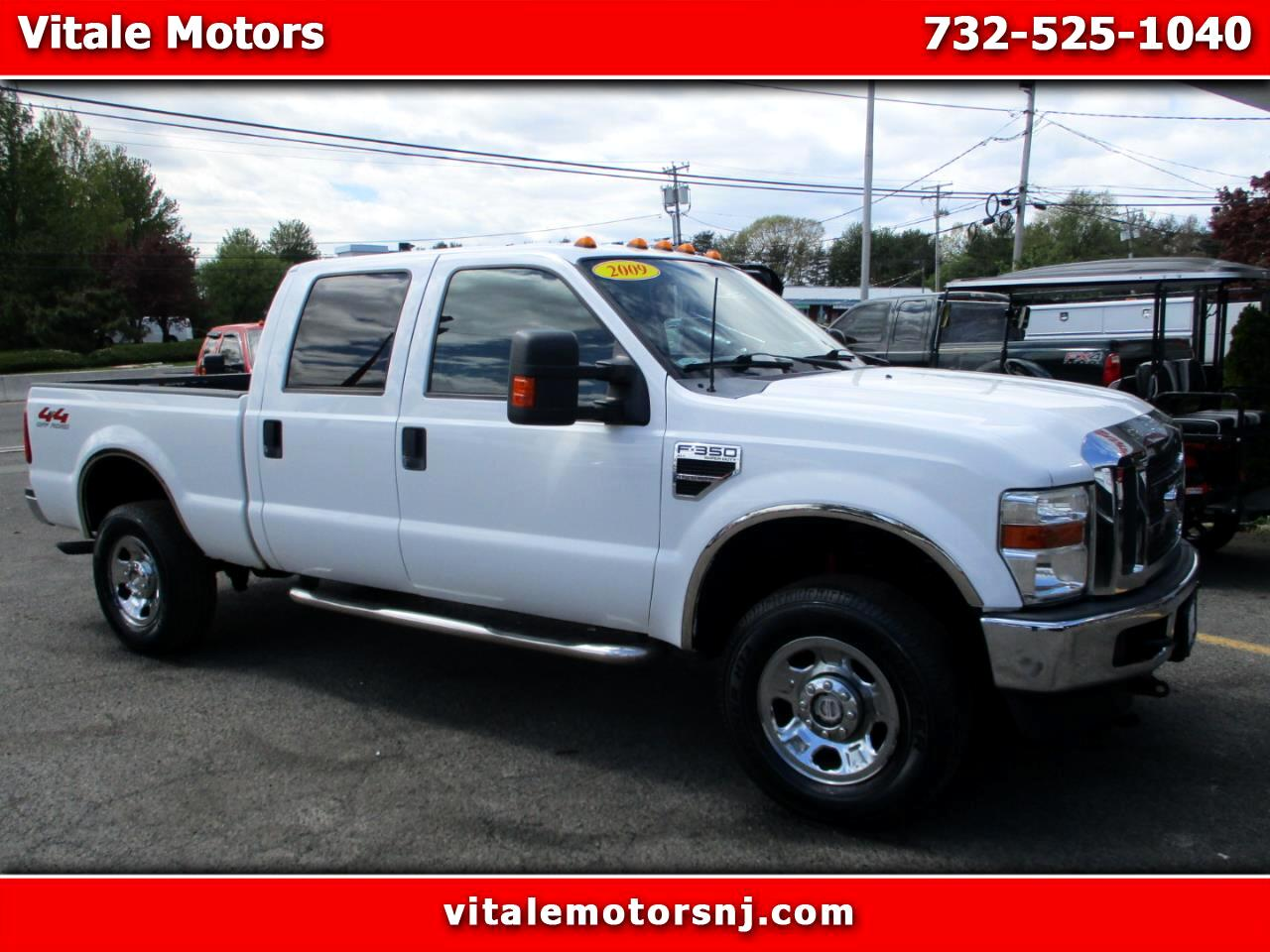 2009 Ford F-350 SD CREW CAB 4X4 6' BED
