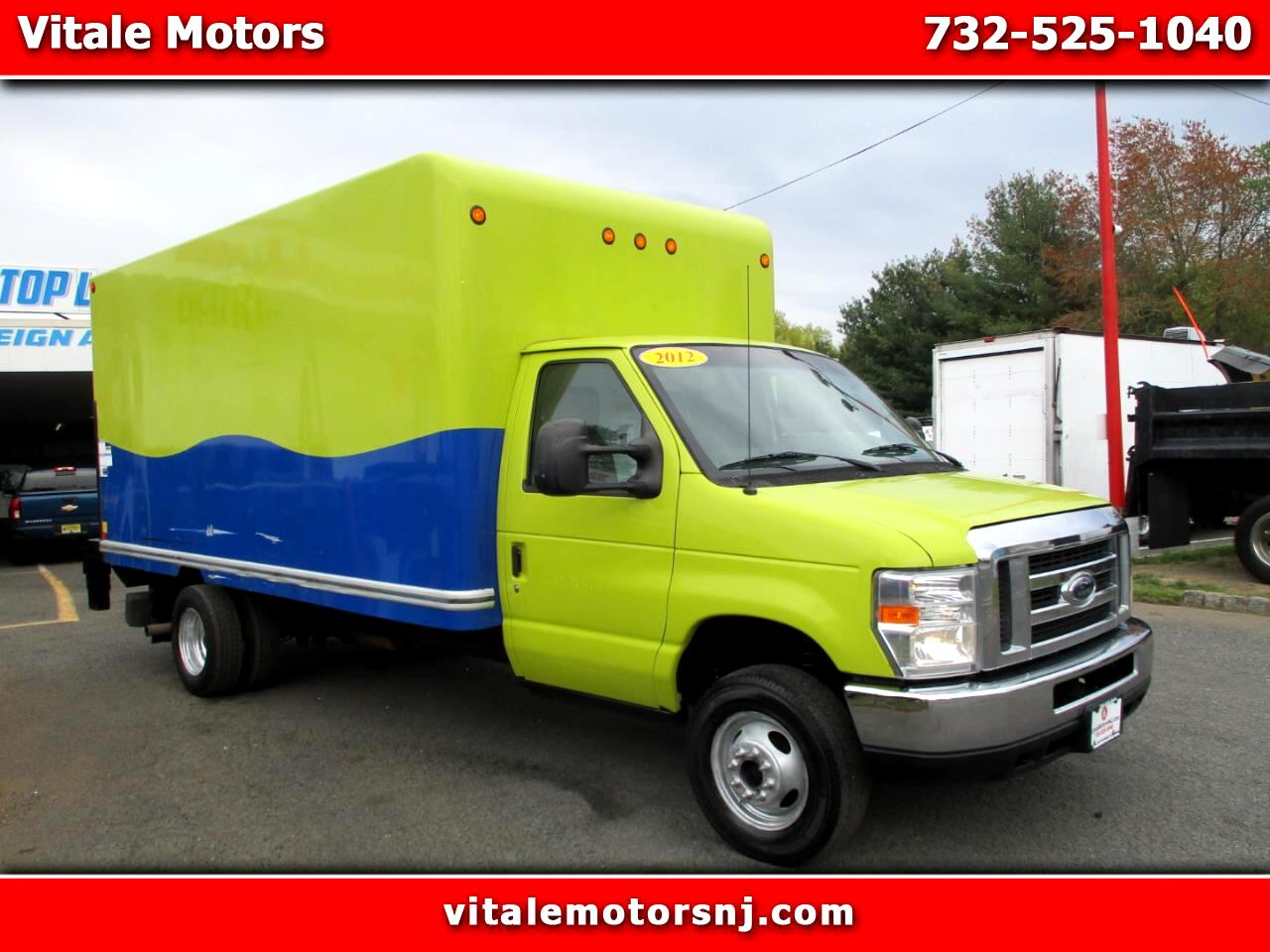 2012 Ford Econoline E450 BOX TRUCK 15 FOOT