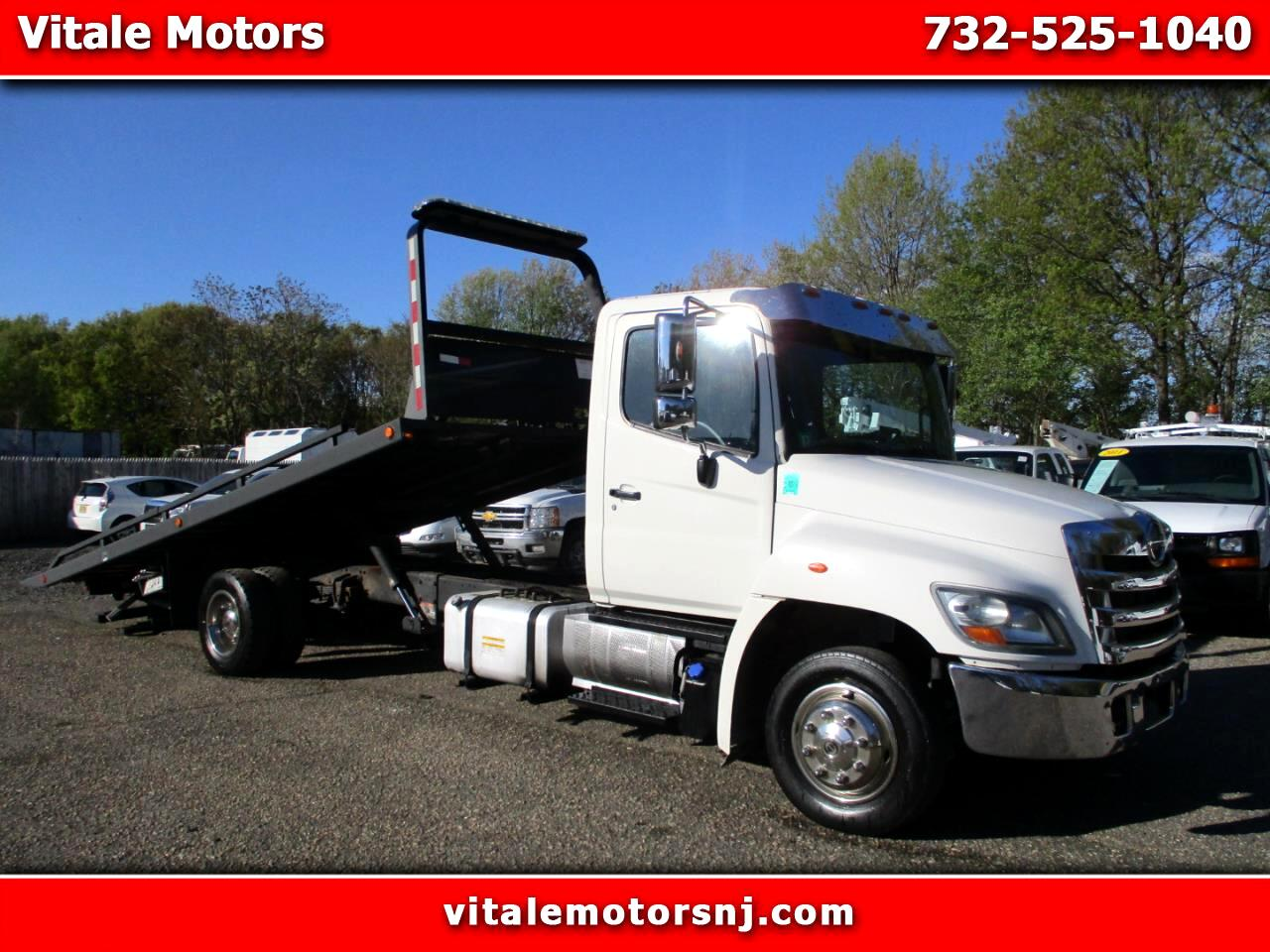 2011 Hino 268 21 FOOT JERR DAN FLAT BED * TOW TRUCK * ROLL BACK