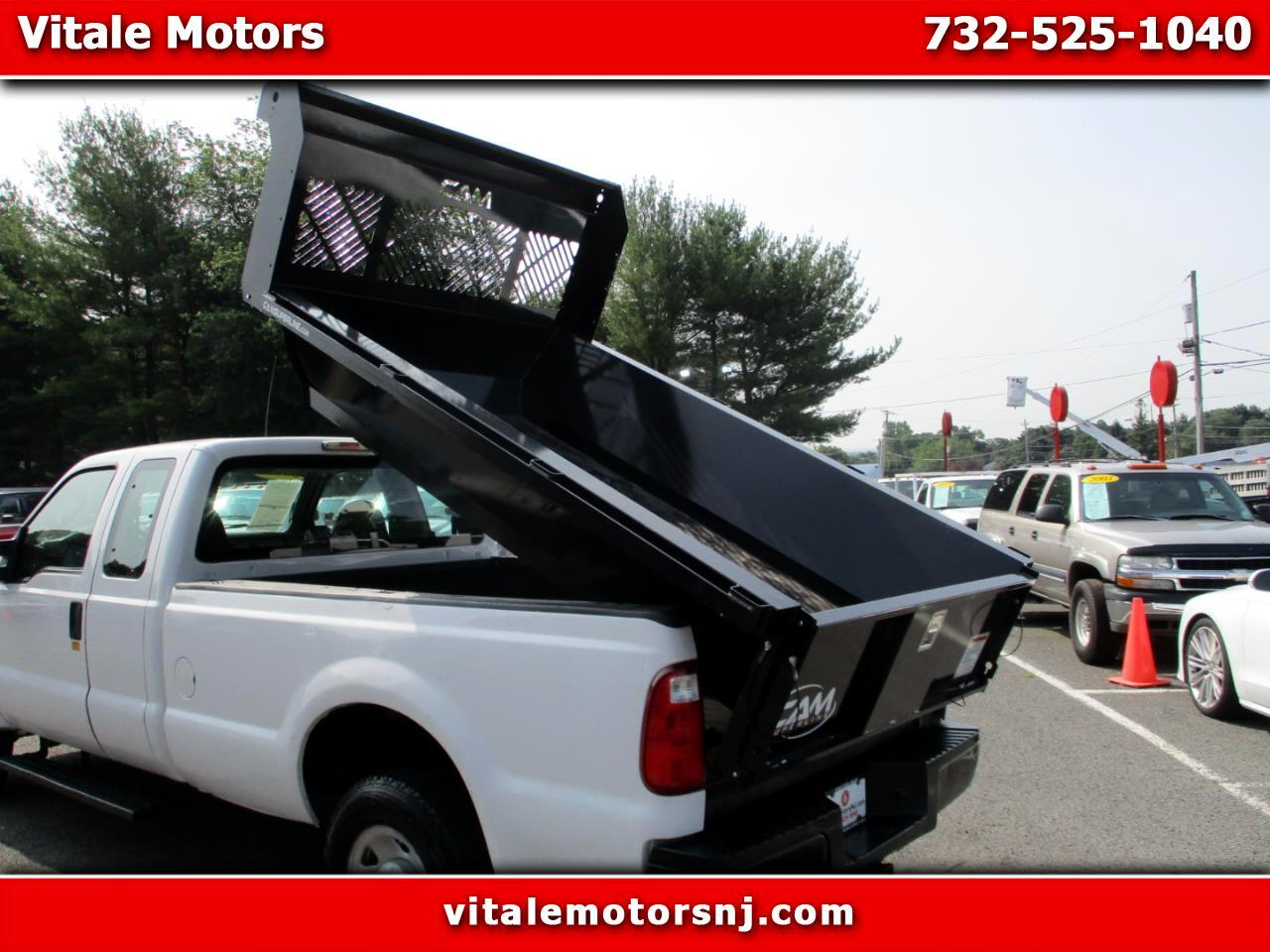2009 Ford F-250 SD DUMP TRUCK 59K MILES 4X4 SUPERCAB