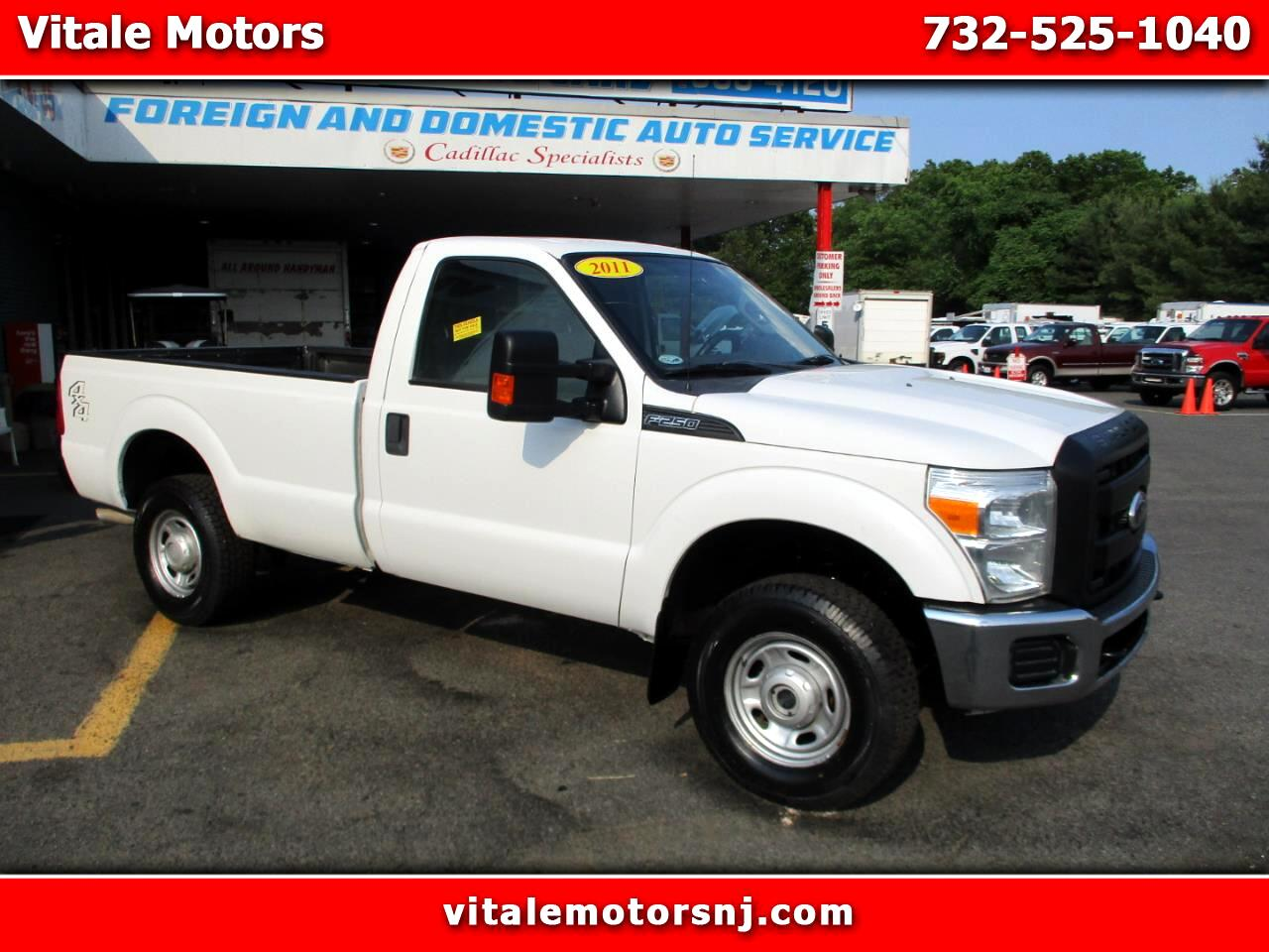 2011 Ford F-250 SD REG. CAB LONG BED 4X4