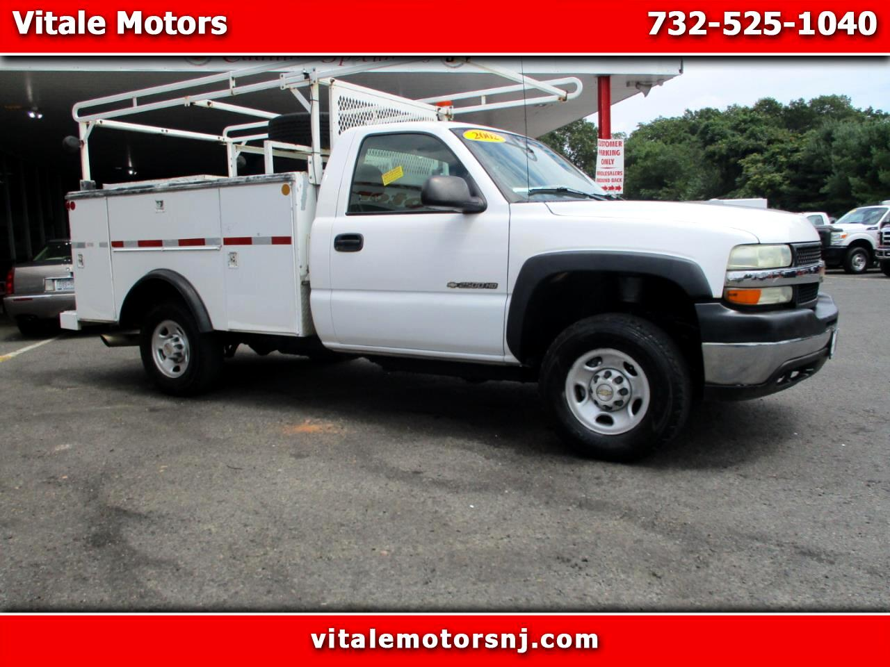 2002 Chevrolet Silverado 2500HD UTILITY BODY 4WD 2500